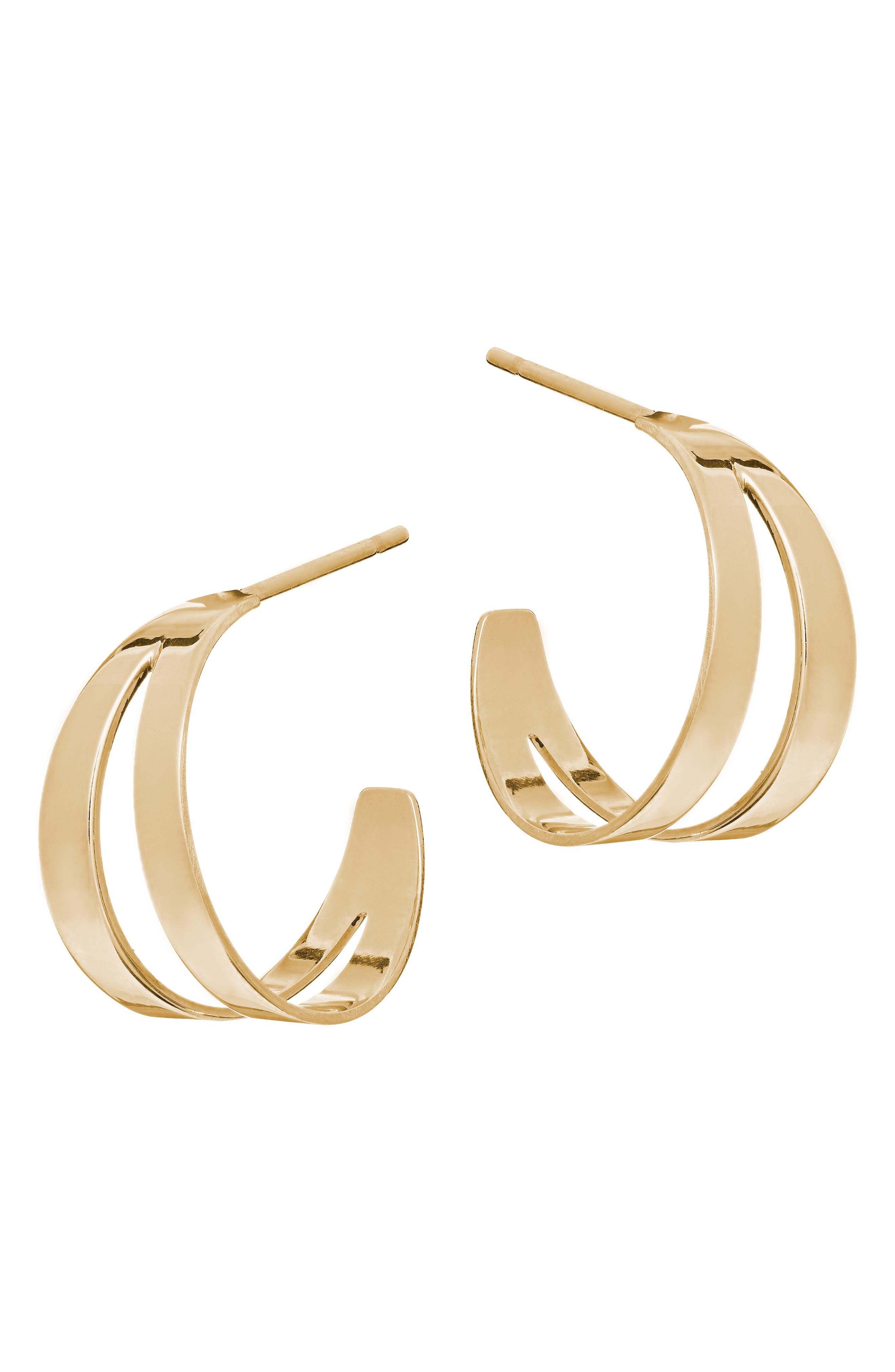 Lana Jewelry Small Hoop Earrings