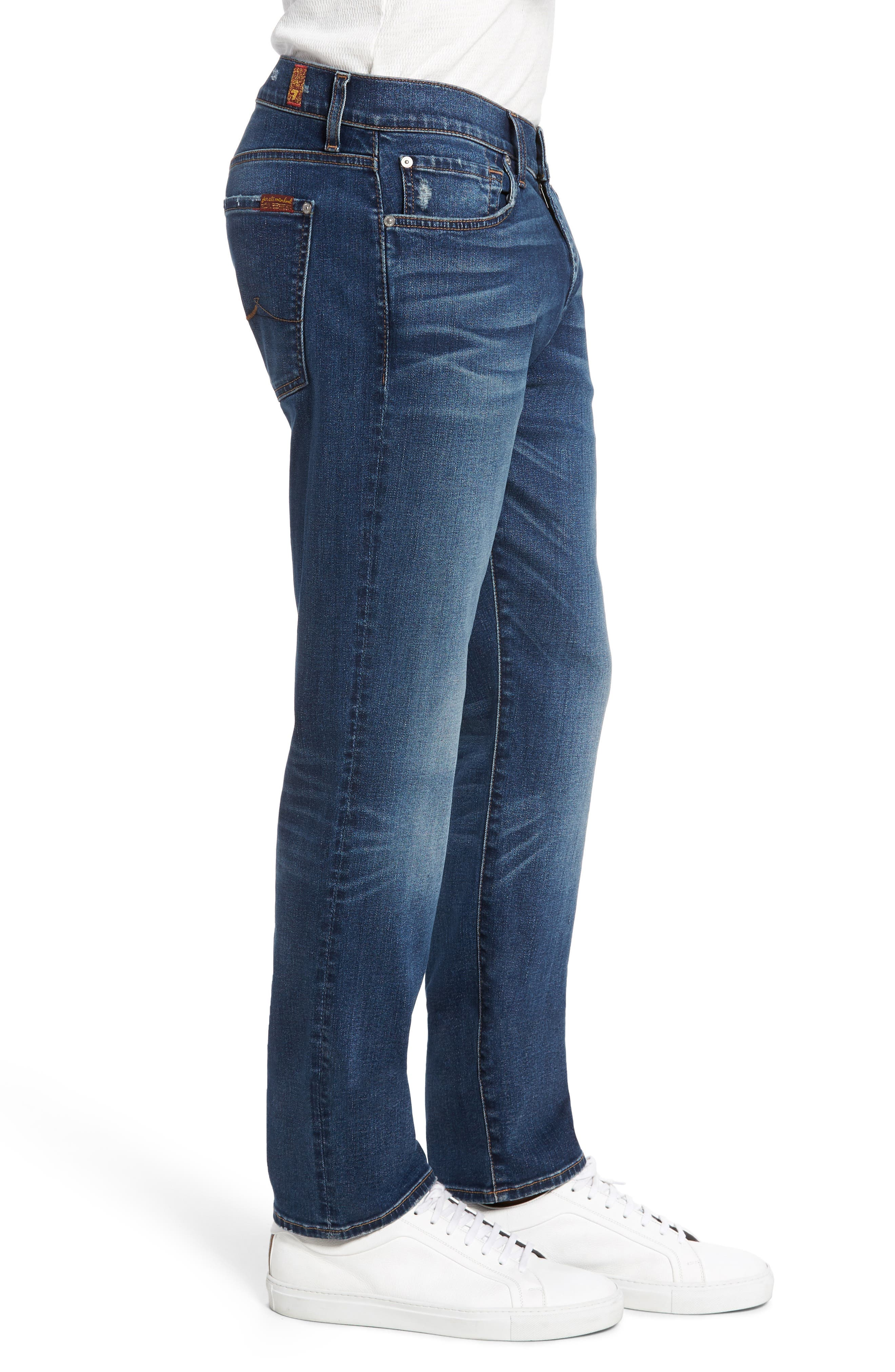 Alternate Image 3  - 7 For All Mankind® Slimmy Slim Fit Jeans (Union)