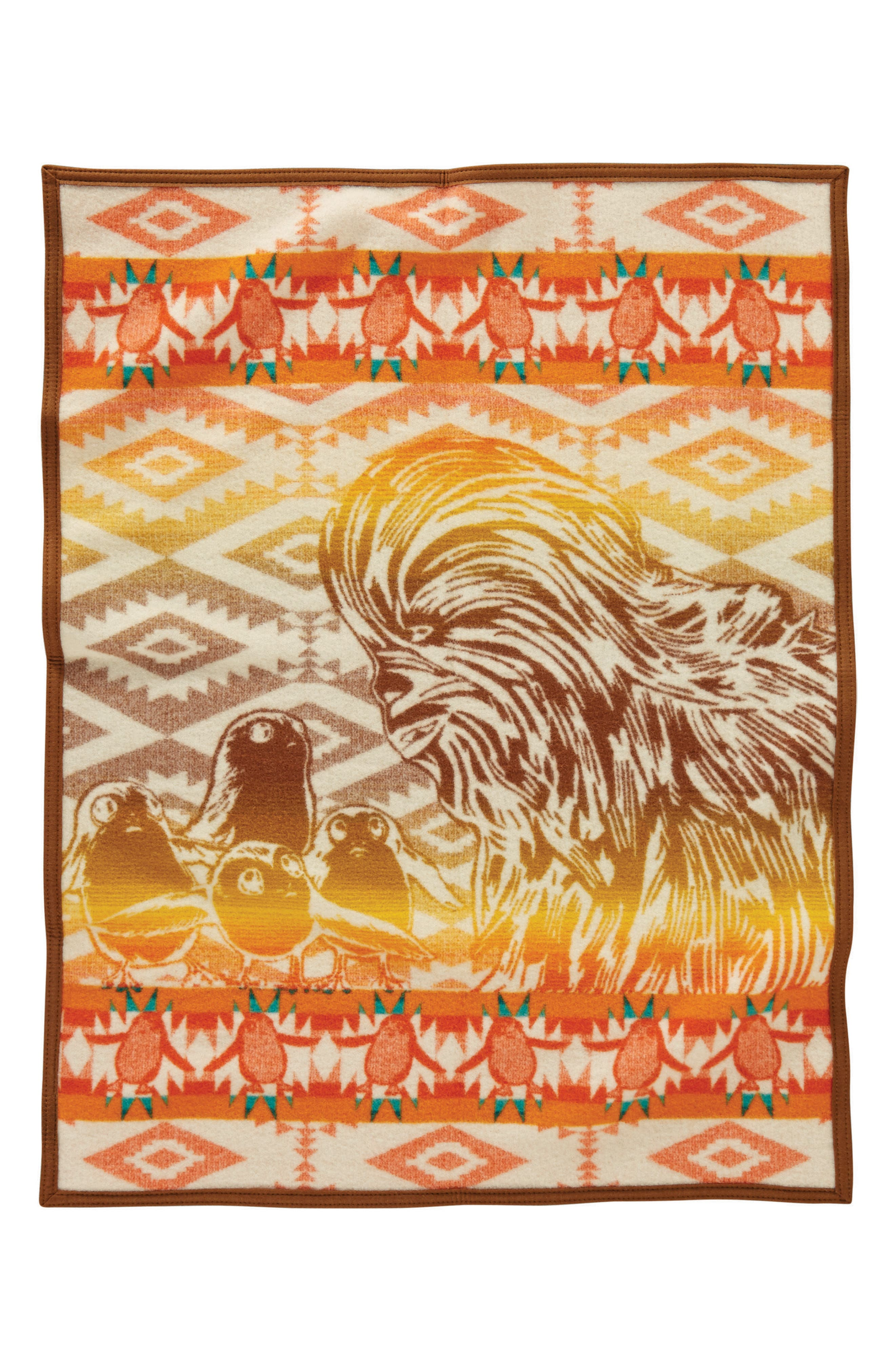 Star Wars<sup>™</sup> - A New Alliance Crib Blanket,                             Alternate thumbnail 2, color,                             Brown