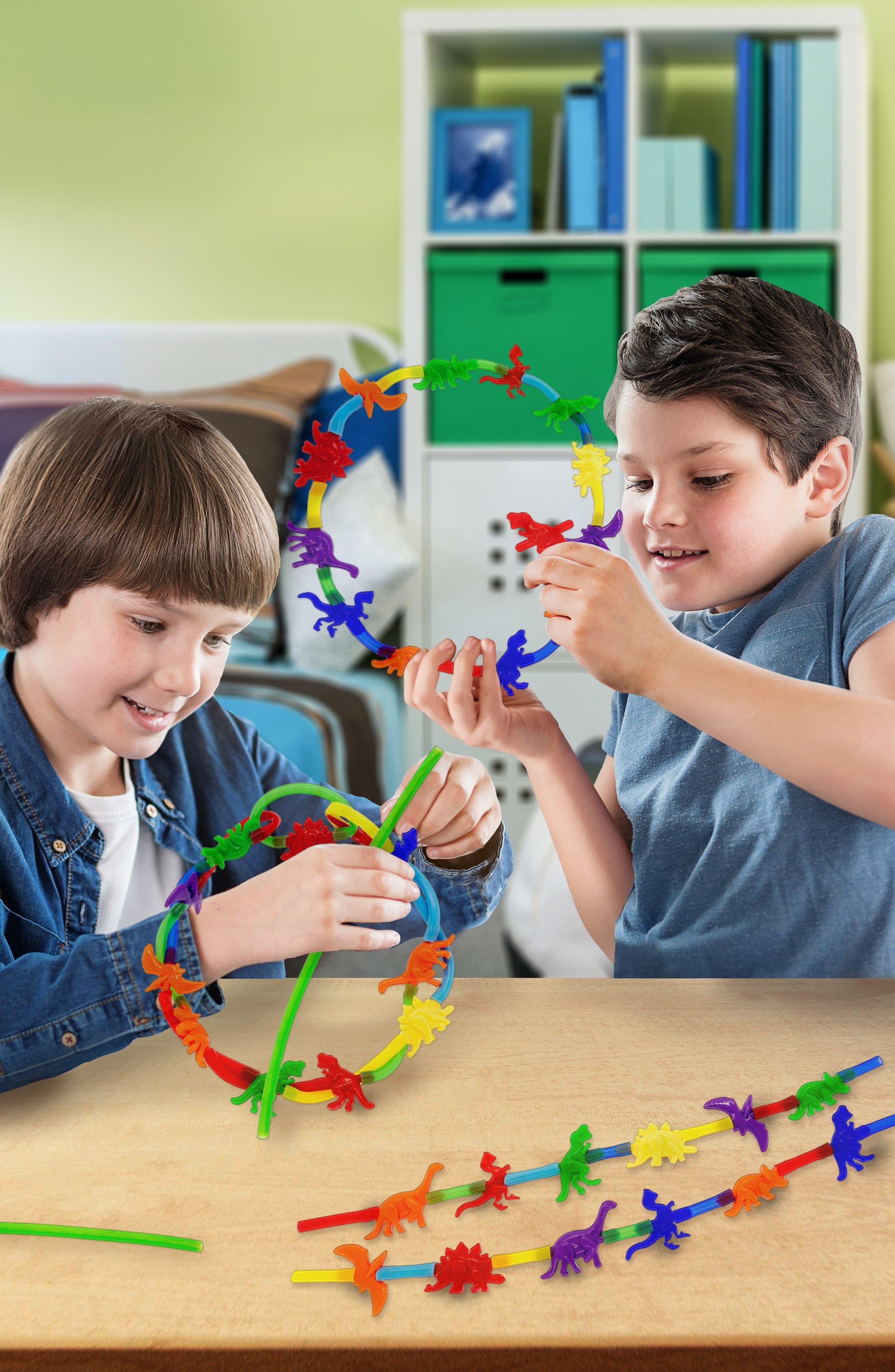 35-Piece Dinosaur Series Linking Toy Kit,                             Alternate thumbnail 3, color,                             Dinosaur