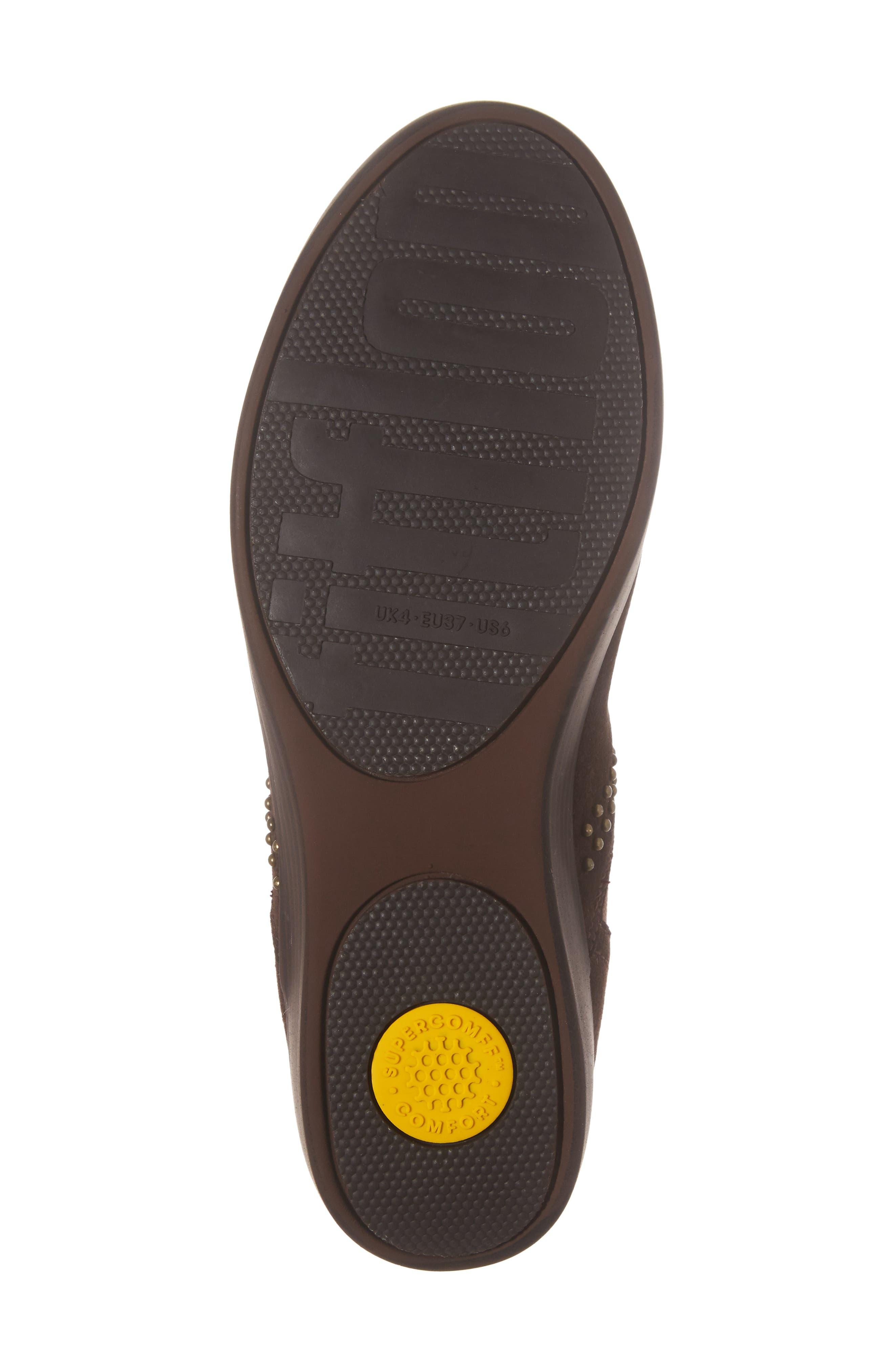 Alternate Image 6  - FitFlop™ Superchelsea Studded Boot (Women)