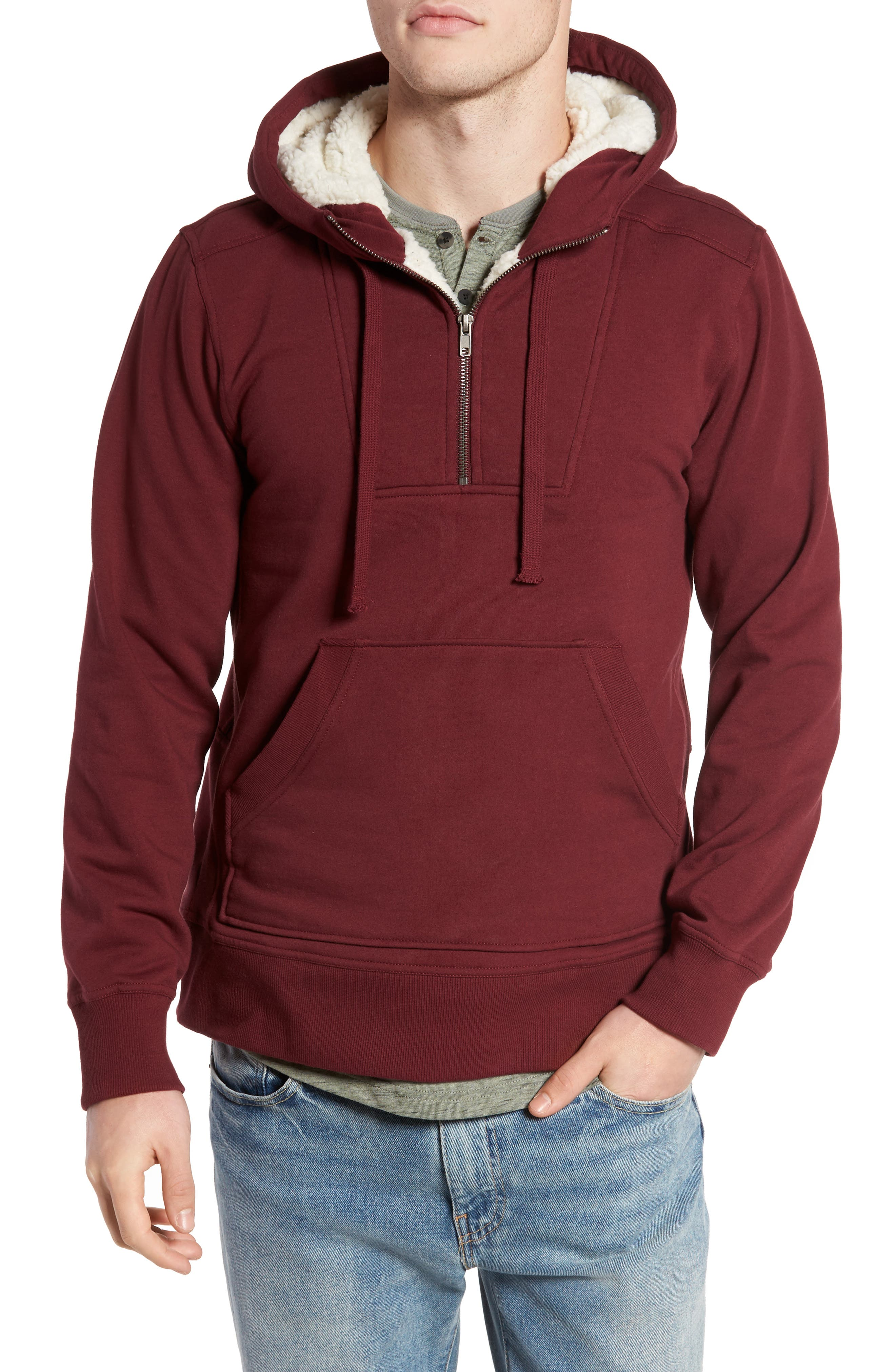 Main Image - Tunellus Fleece Lined Hoodie