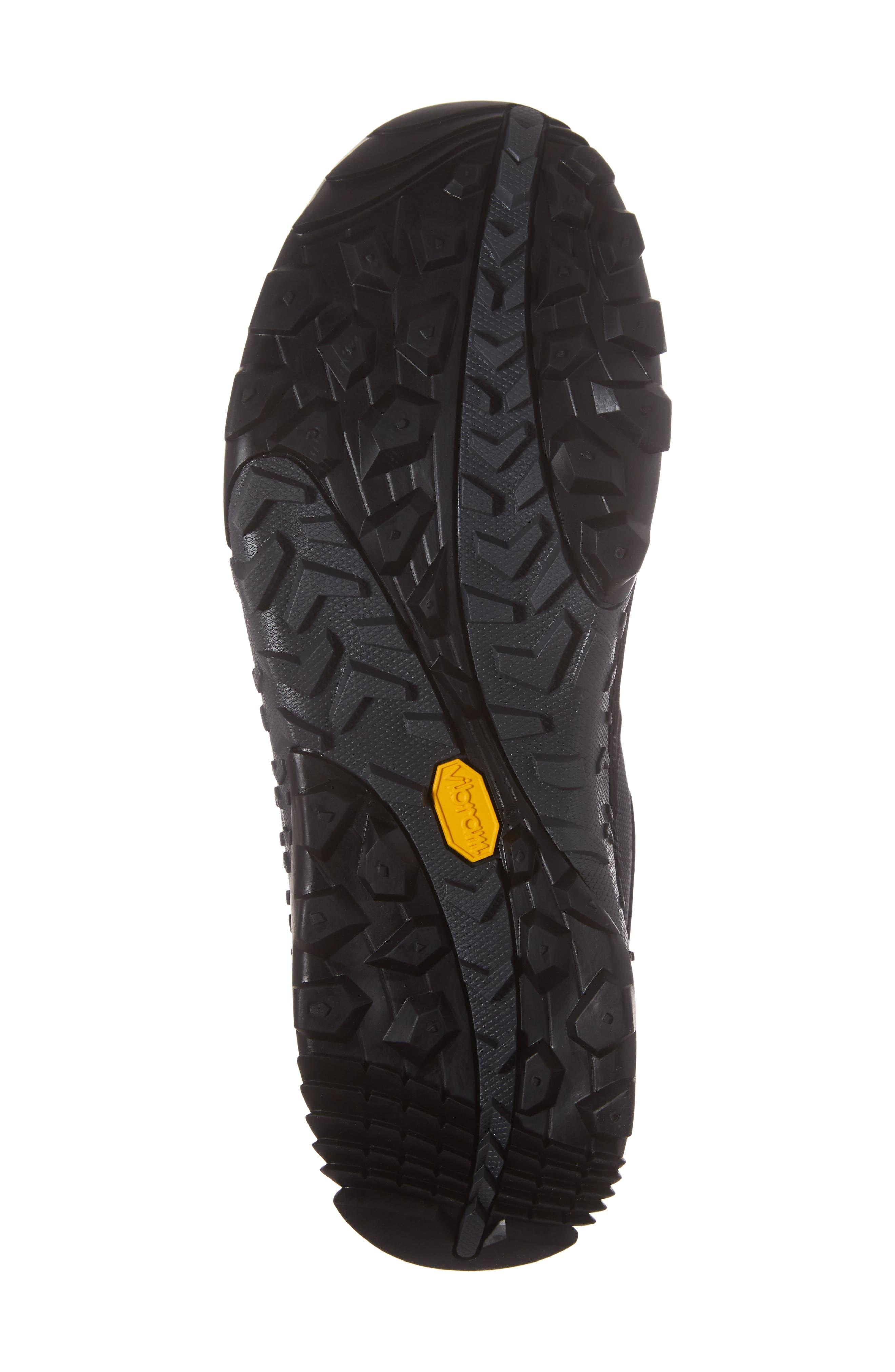Annex Tak Low Hiking Shoe,                             Alternate thumbnail 6, color,                             Black Nubuck Leather