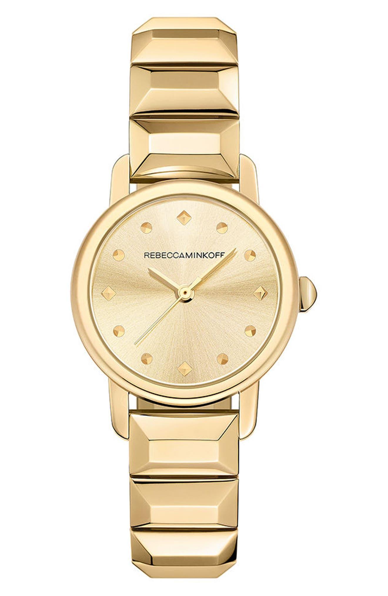 BFFL Bracelet Watch, 25mm,                         Main,                         color, Gold