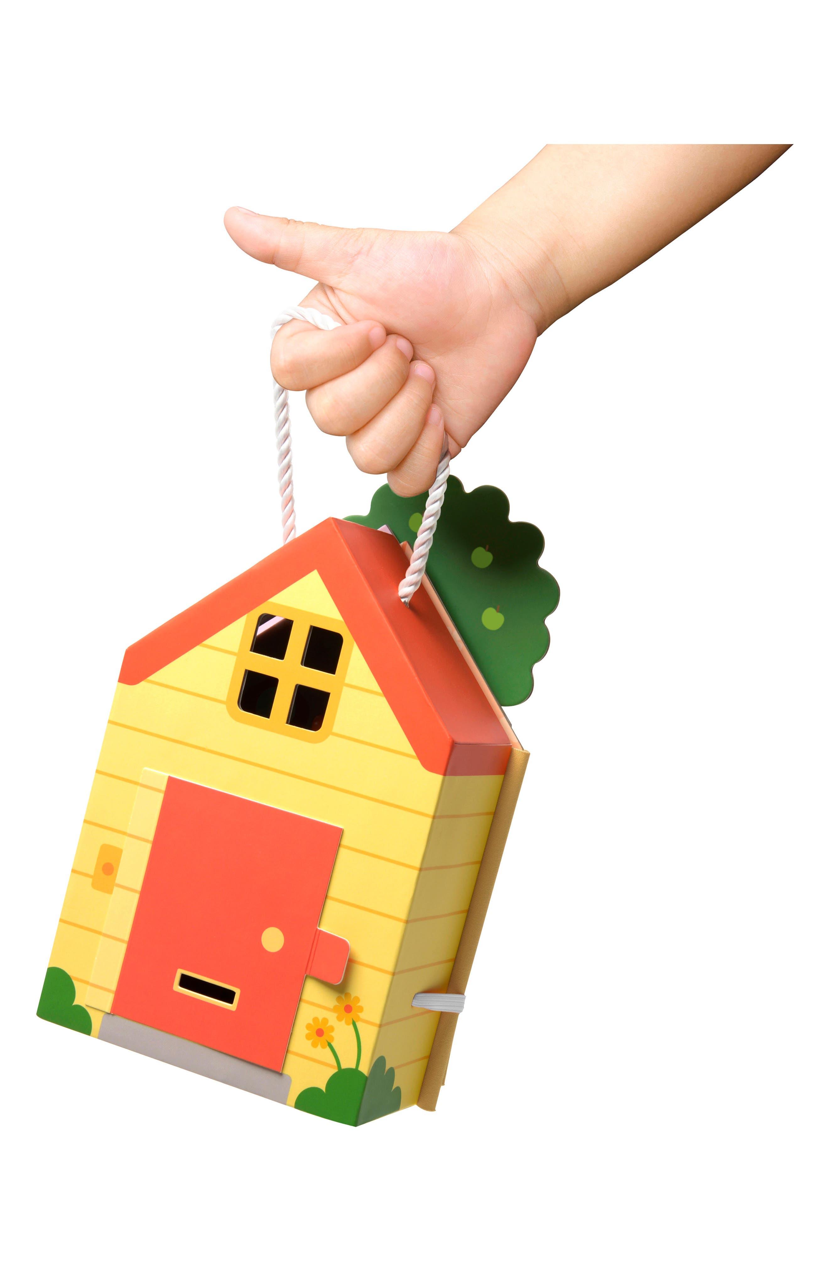 Jinja's House Portable Play Set,                             Alternate thumbnail 3, color,                             Multi