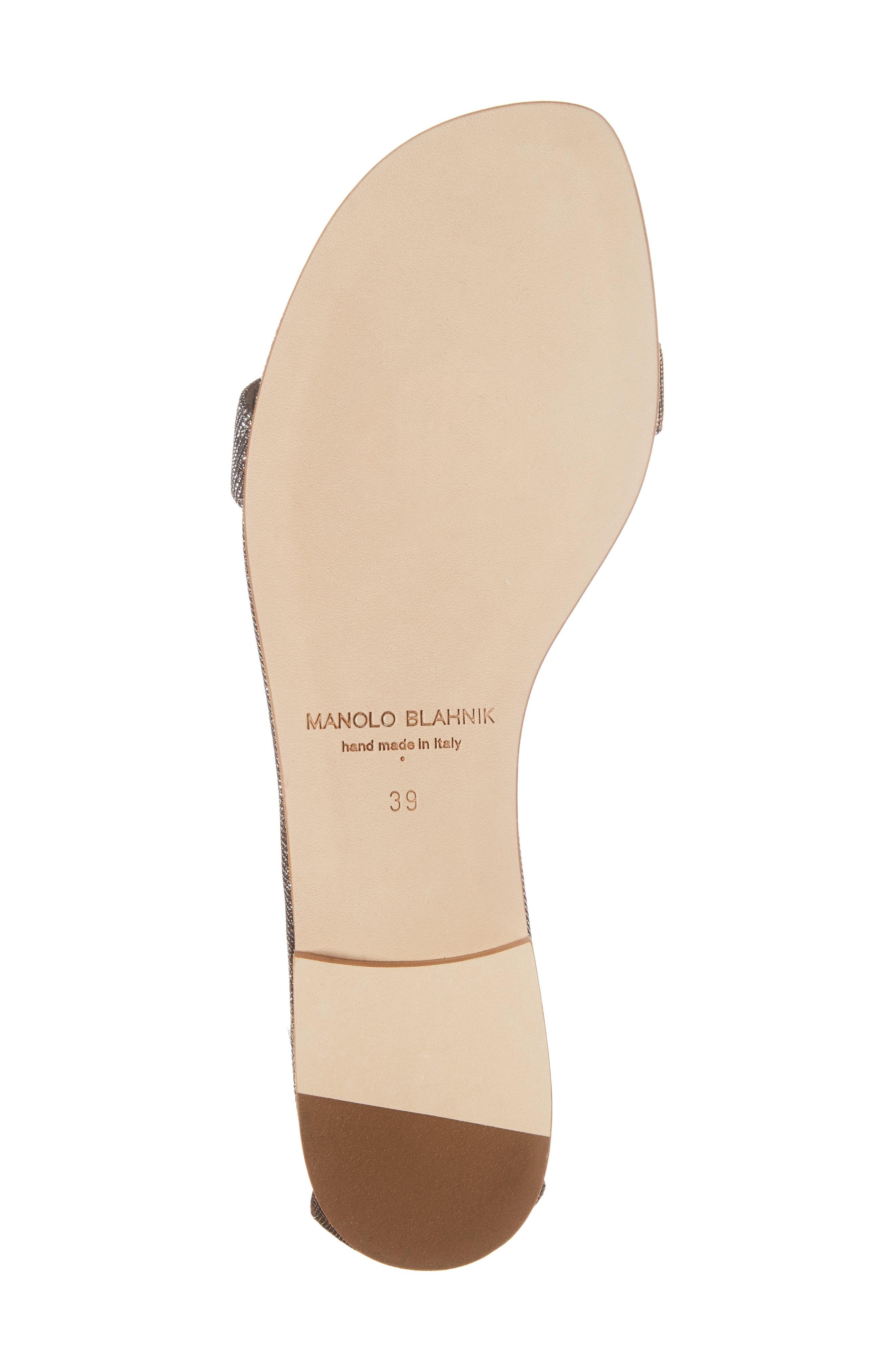 Alternate Image 6  - Manolo Blahnik Chafla Ankle Strap Sandal (Women)