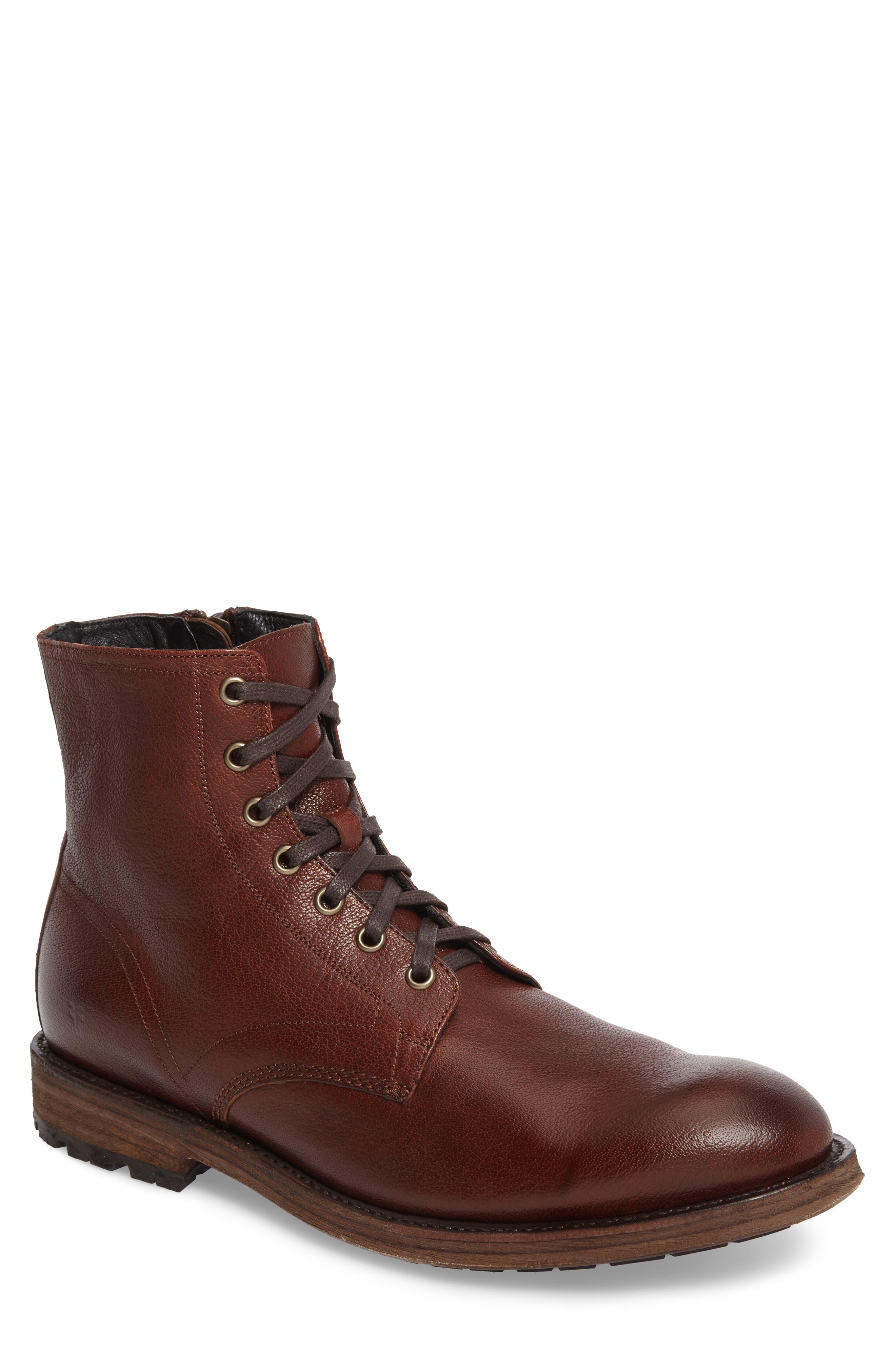 Frye Bowery Plain Toe Boot (Men)