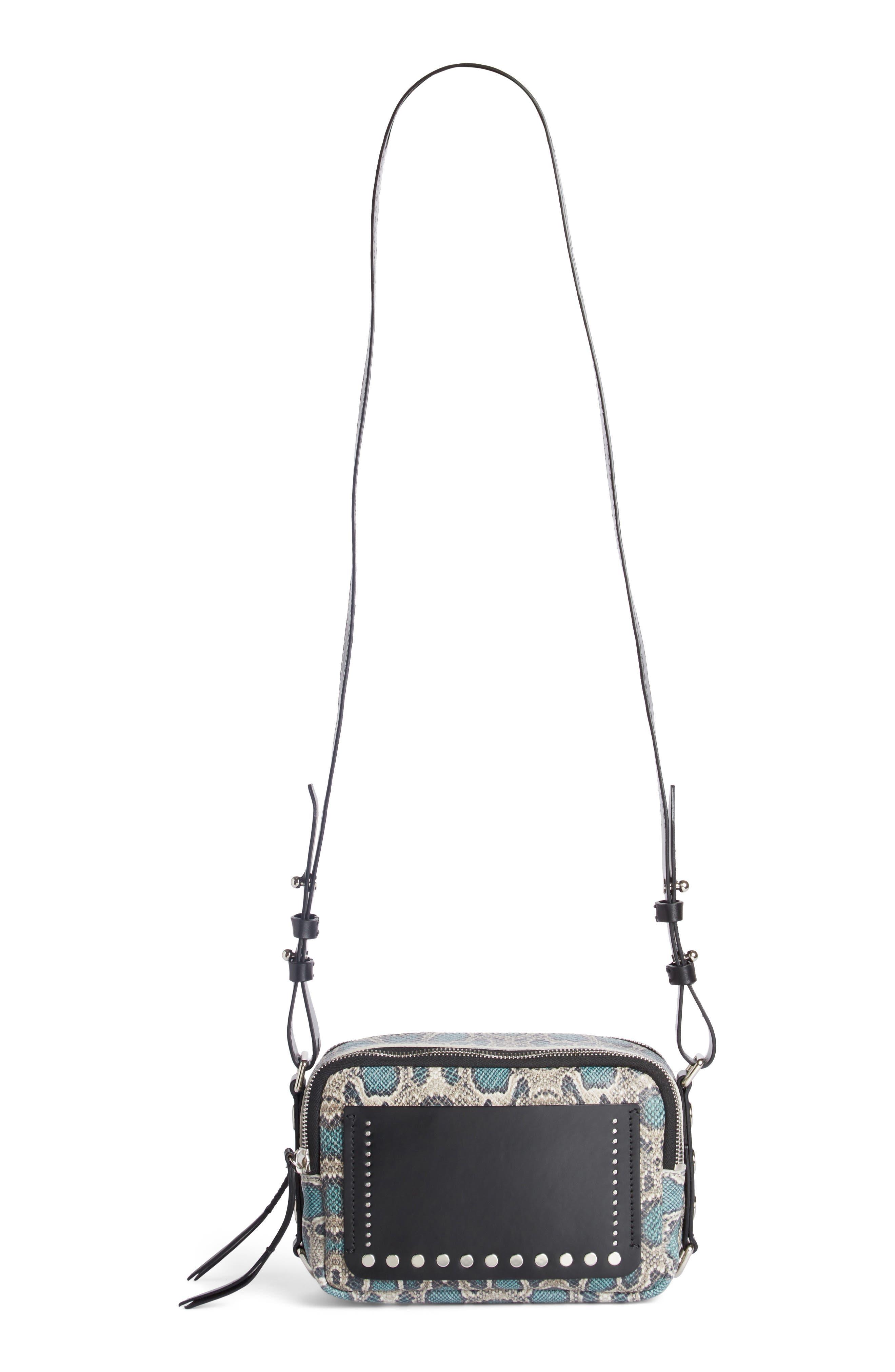 Tinley Studded Leather Crossbody Bag,                             Alternate thumbnail 2, color,                             Verdigris