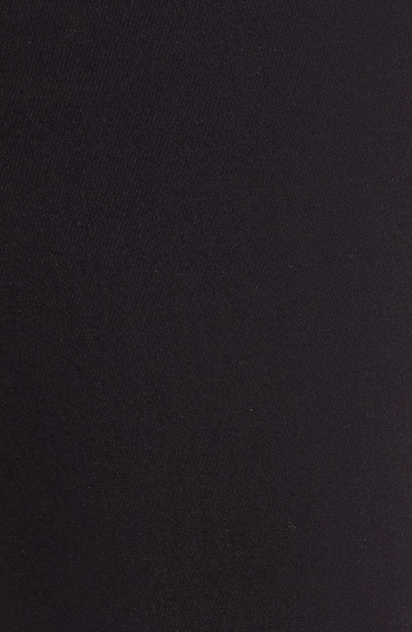Alternate Image 6  - PAIGE Transcend - Kylo High Waist Skinny Jeans (Black Shadow)
