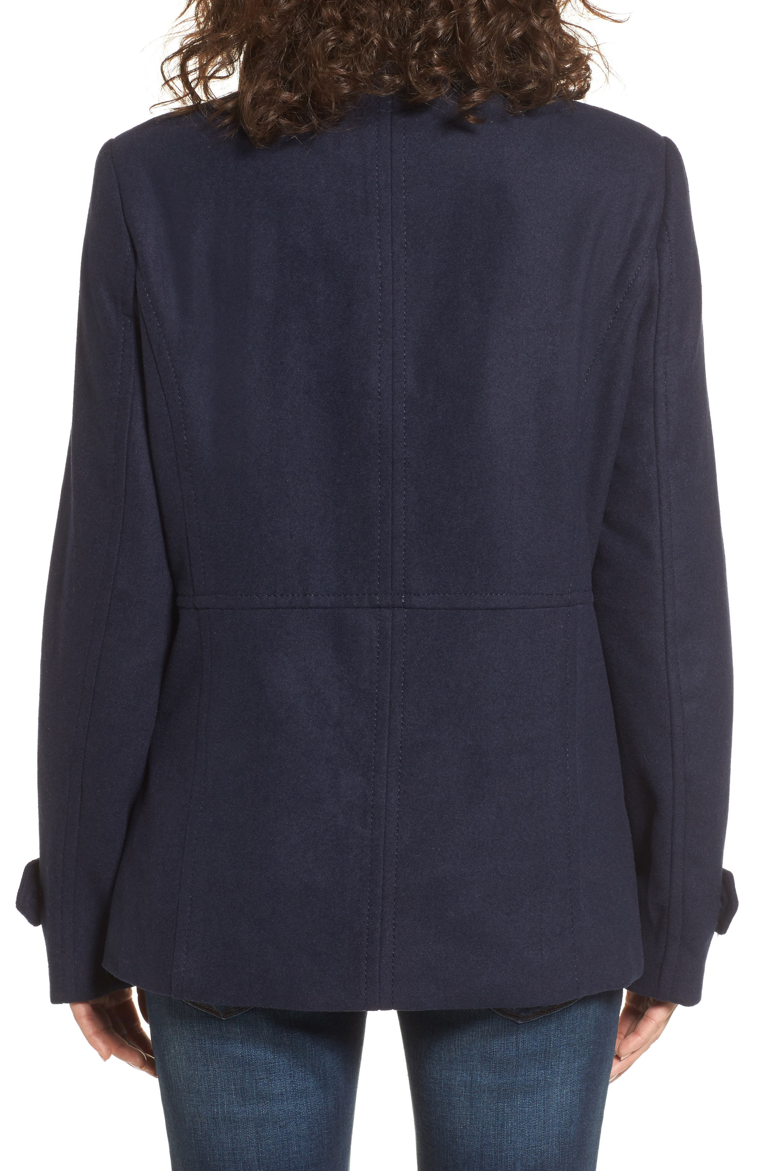 Alternate Image 2  - Thread & Supply Double Breasted Peacoat
