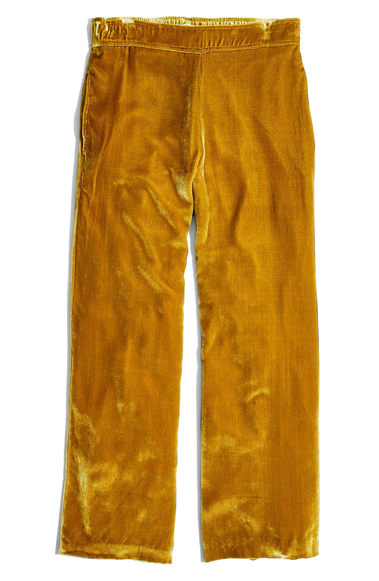 Alternate Image 6  - Madewell Velvet Pants