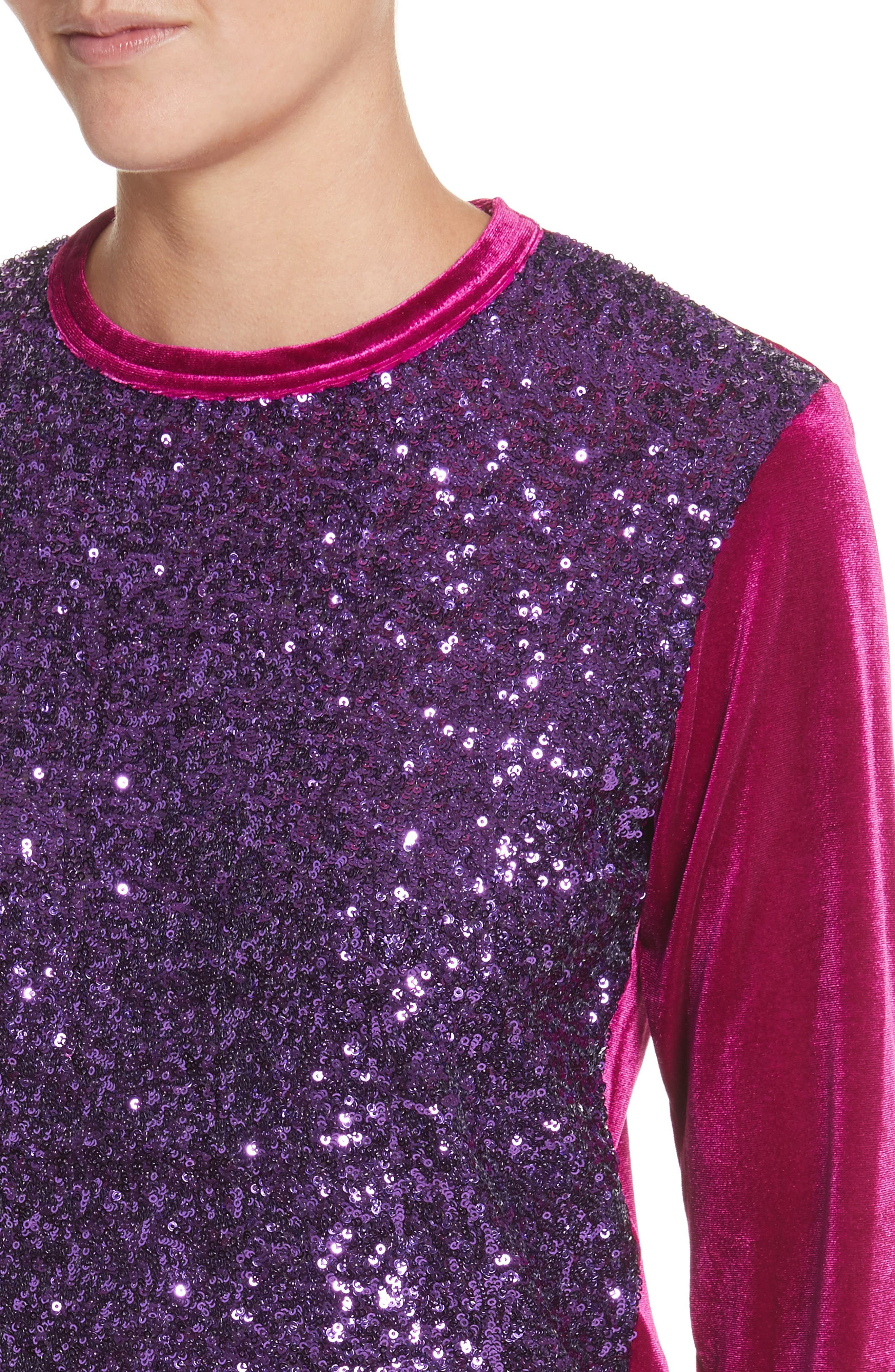 Alternate Image 4  - Junya Watanabe Sequin Velour Top