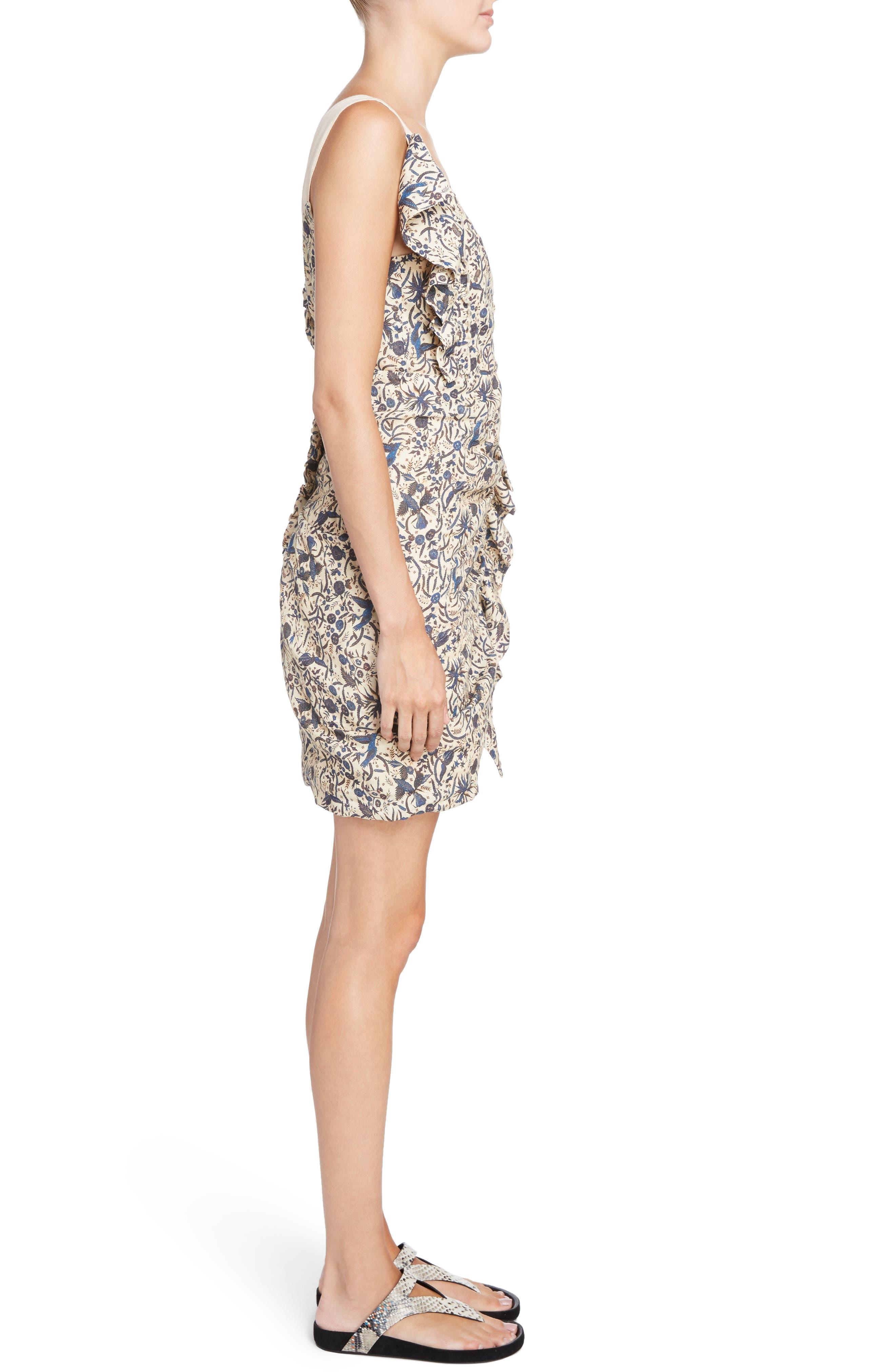 Alternate Image 4  - Isabel Marant Étoile Topaz Print Linen Dress