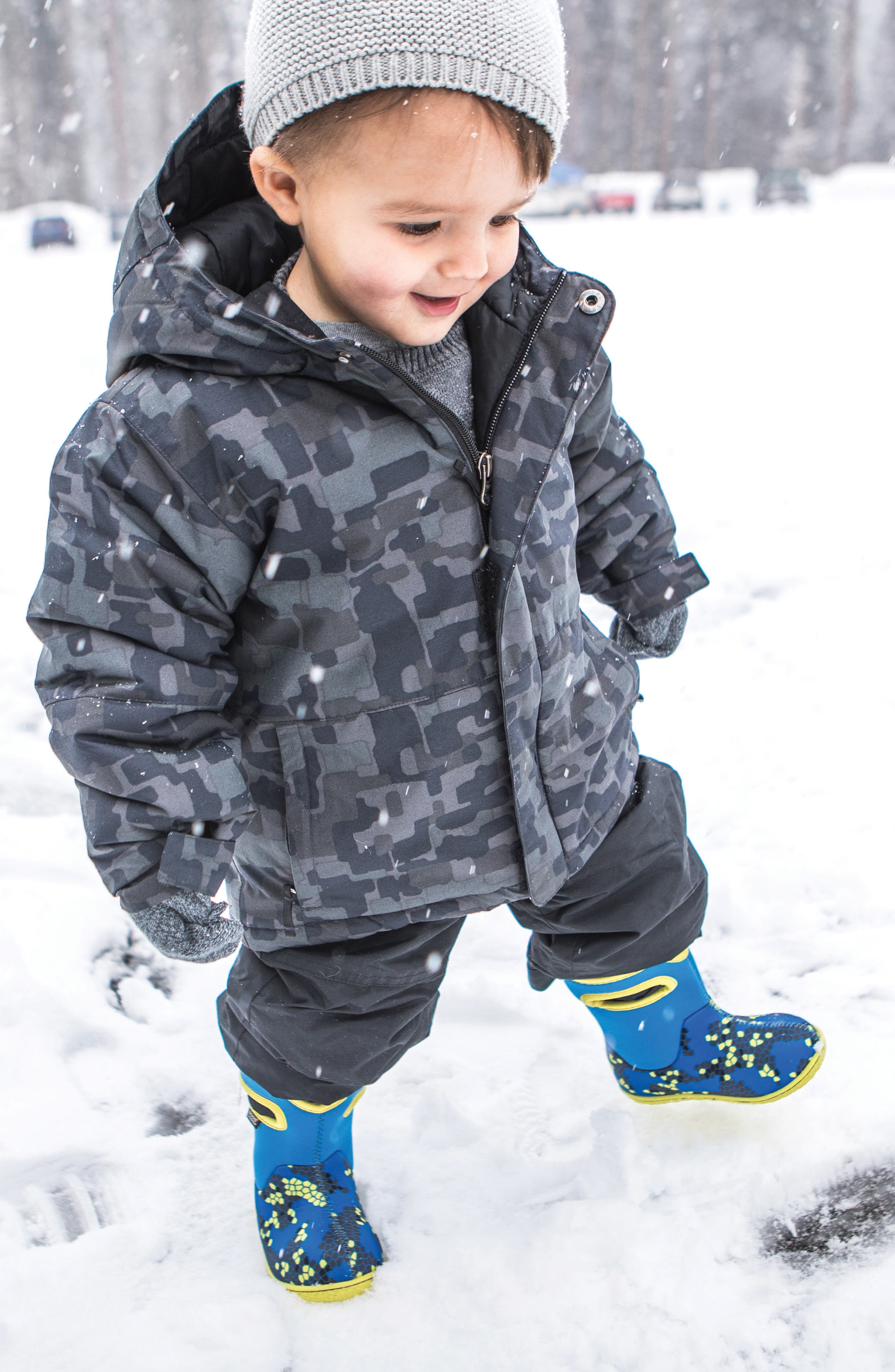 Alternate Image 7  - Bogs Baby Bogs Classic Axel Washable Insulated Waterproof Boot (Baby, Walker & Toddler)