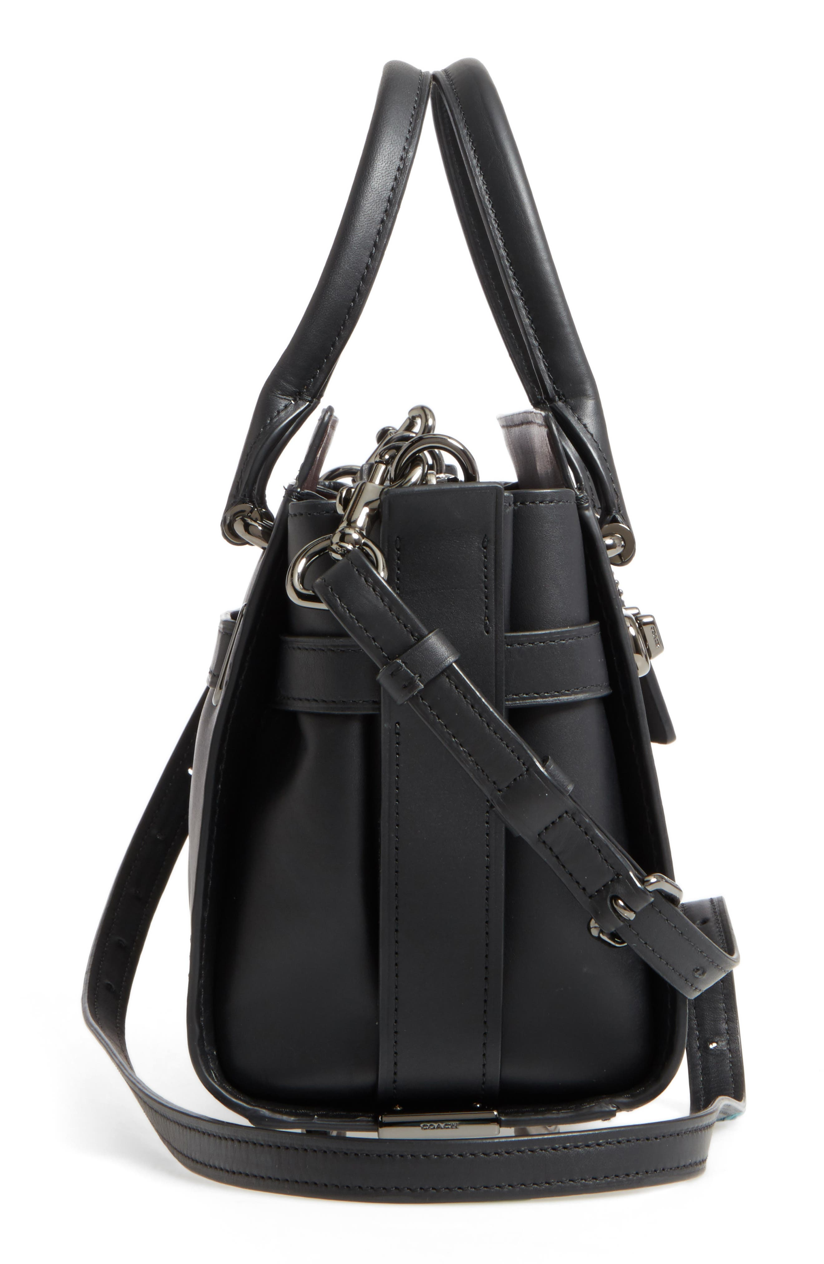 Alternate Image 4  - COACH Swagger 27 Calfskin Leather Satchel
