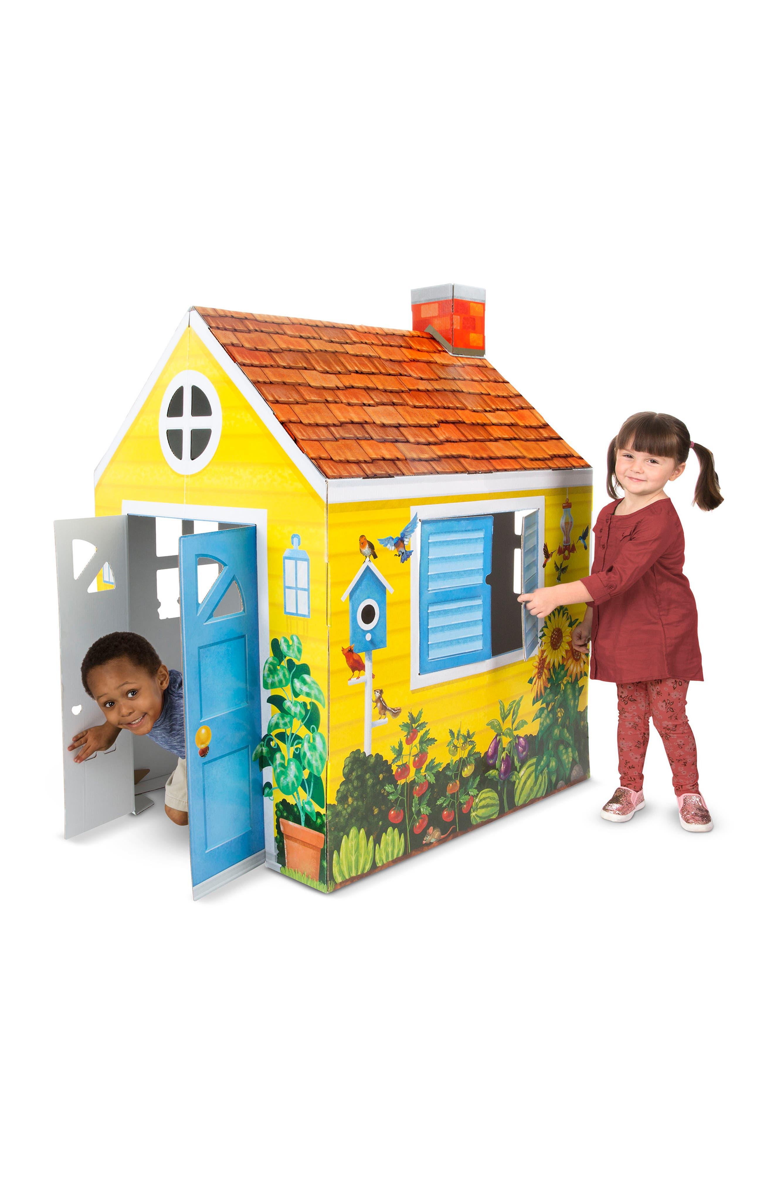 Cardboard Cottage,                             Alternate thumbnail 2, color,                             Multi