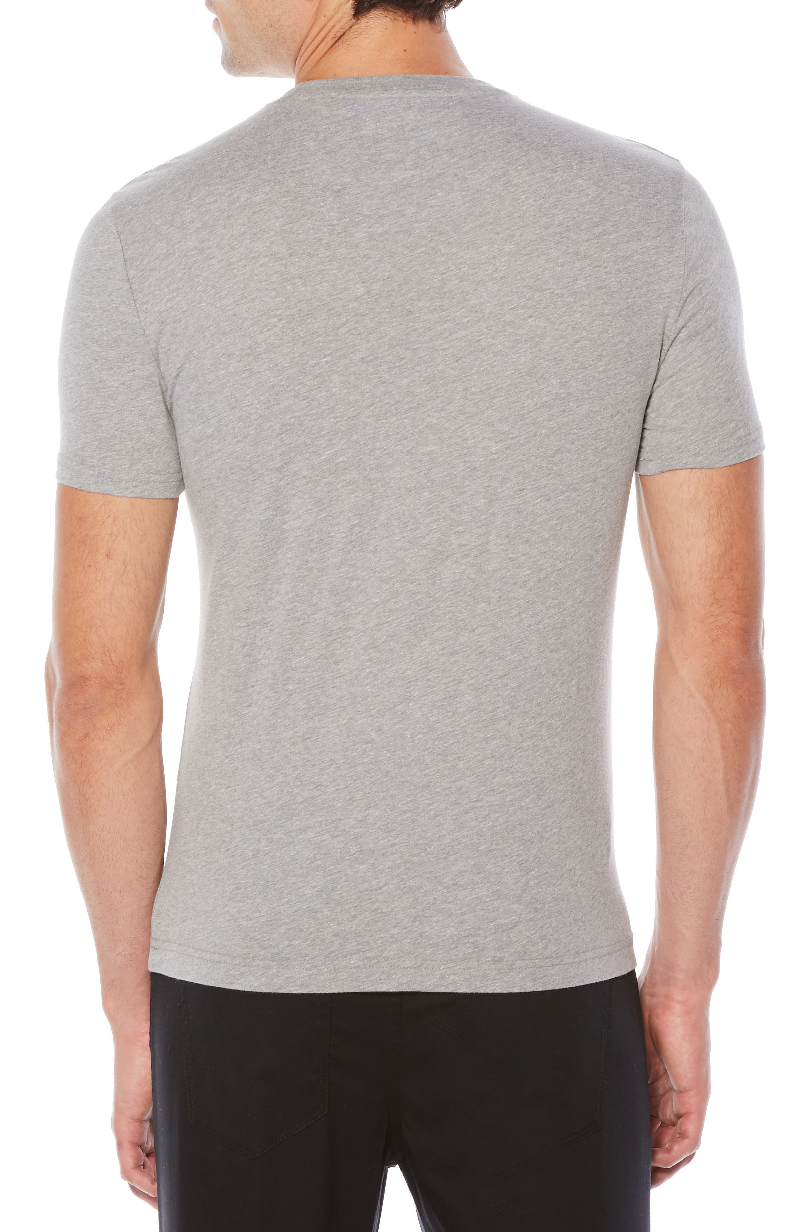 Painterly Print Pete T-Shirt,                             Alternate thumbnail 2, color,                             Athletic Grey Heather