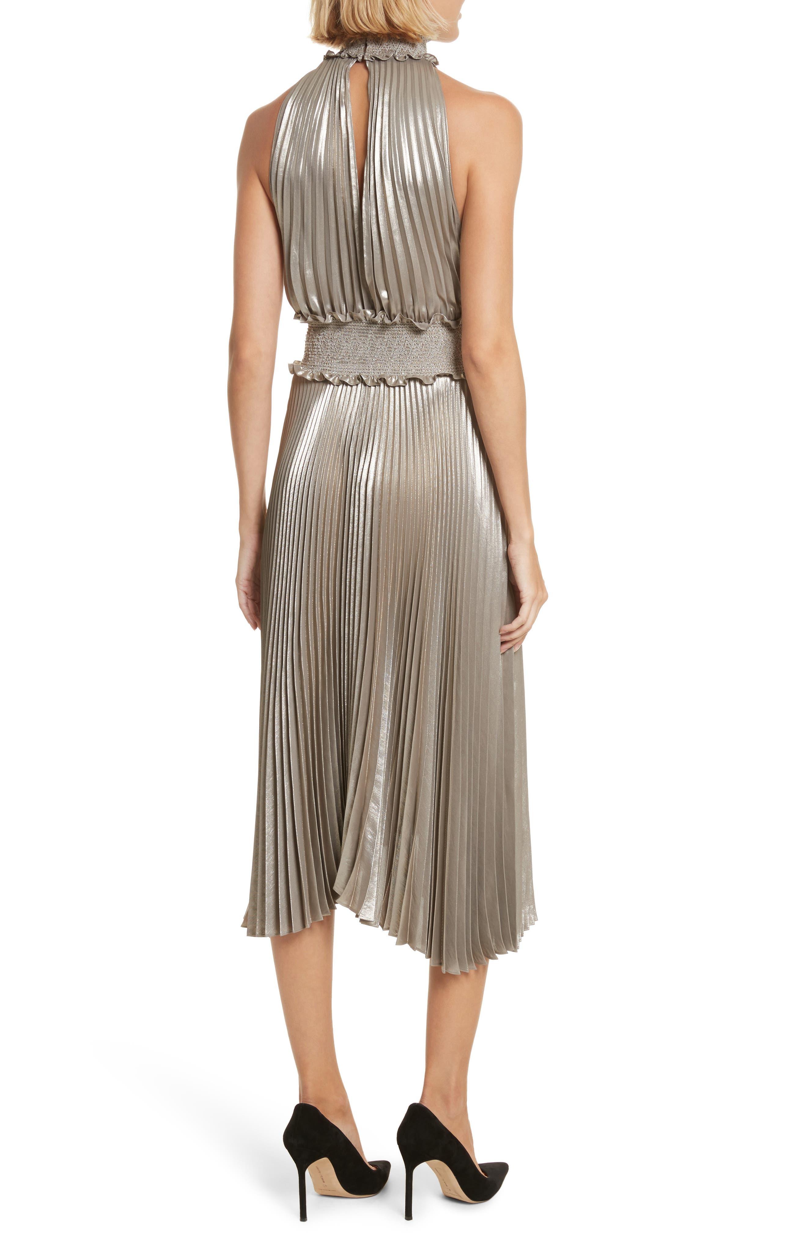 Alternate Image 3  - A.L.C. Kravitz Pleated Midi Dress