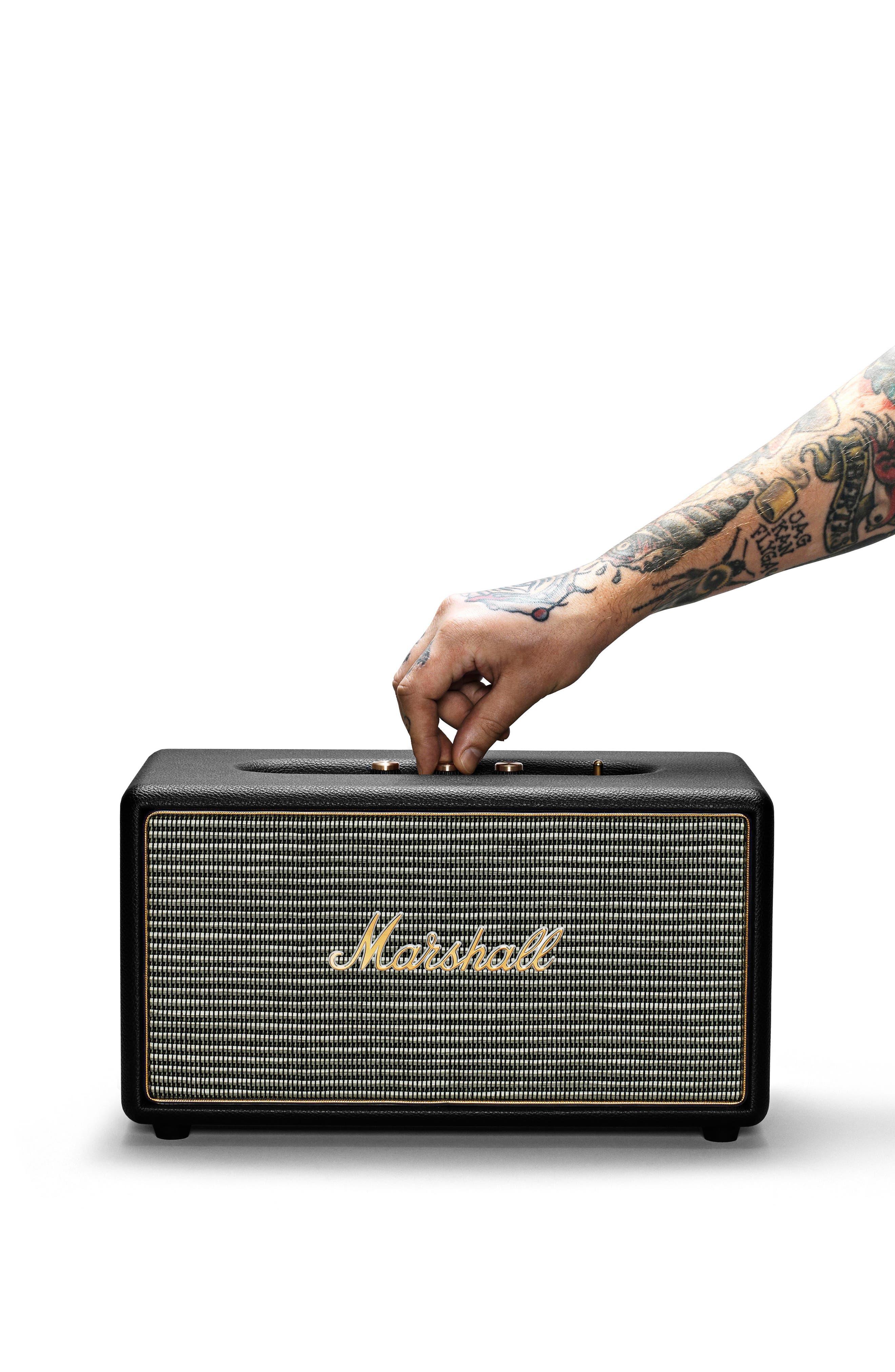 Stanmore Bluetooth Speaker,                             Alternate thumbnail 2, color,                             Black