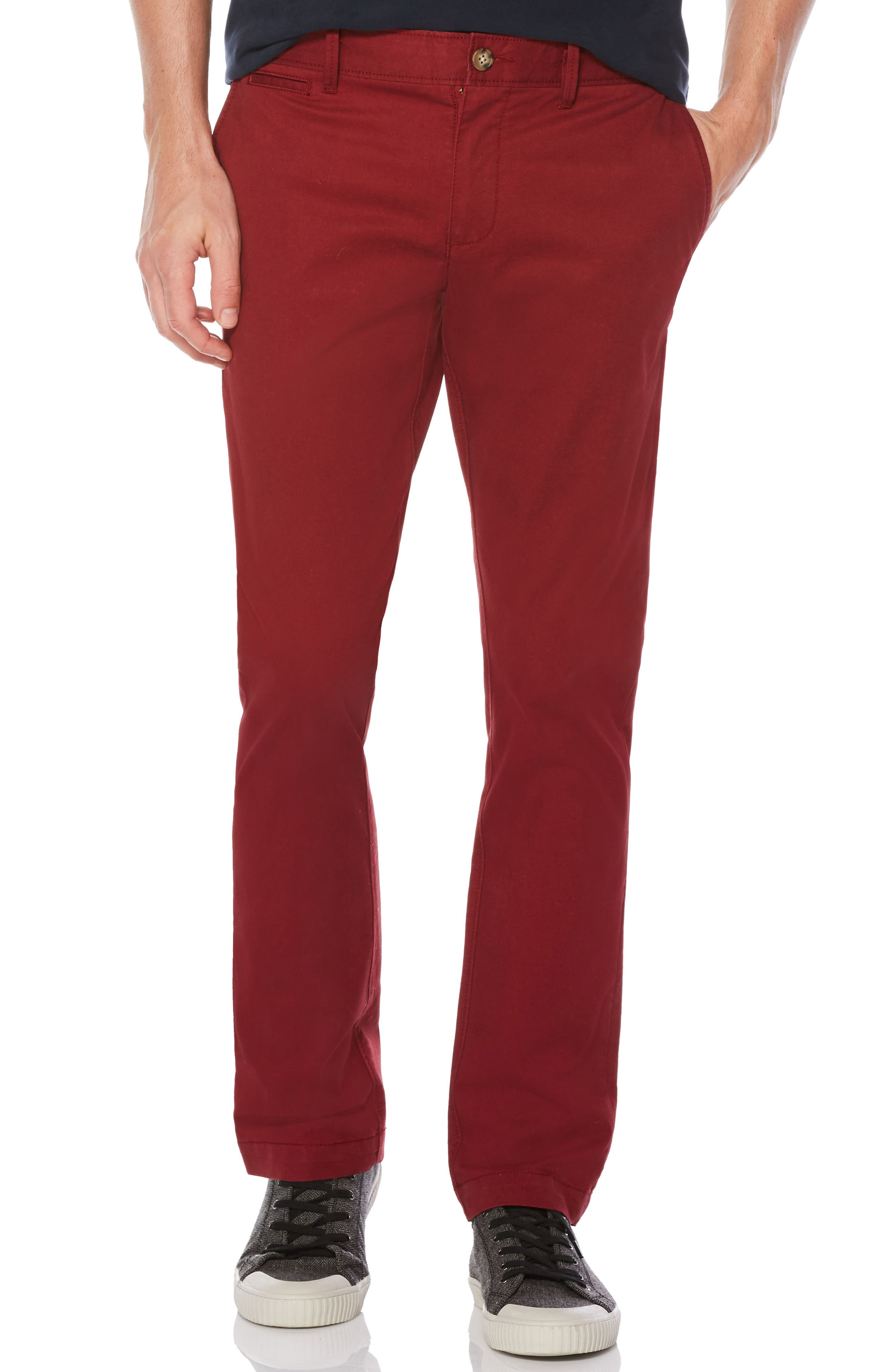 P55 Slim Fit Stretch Chinos,                         Main,                         color, Pomegranate