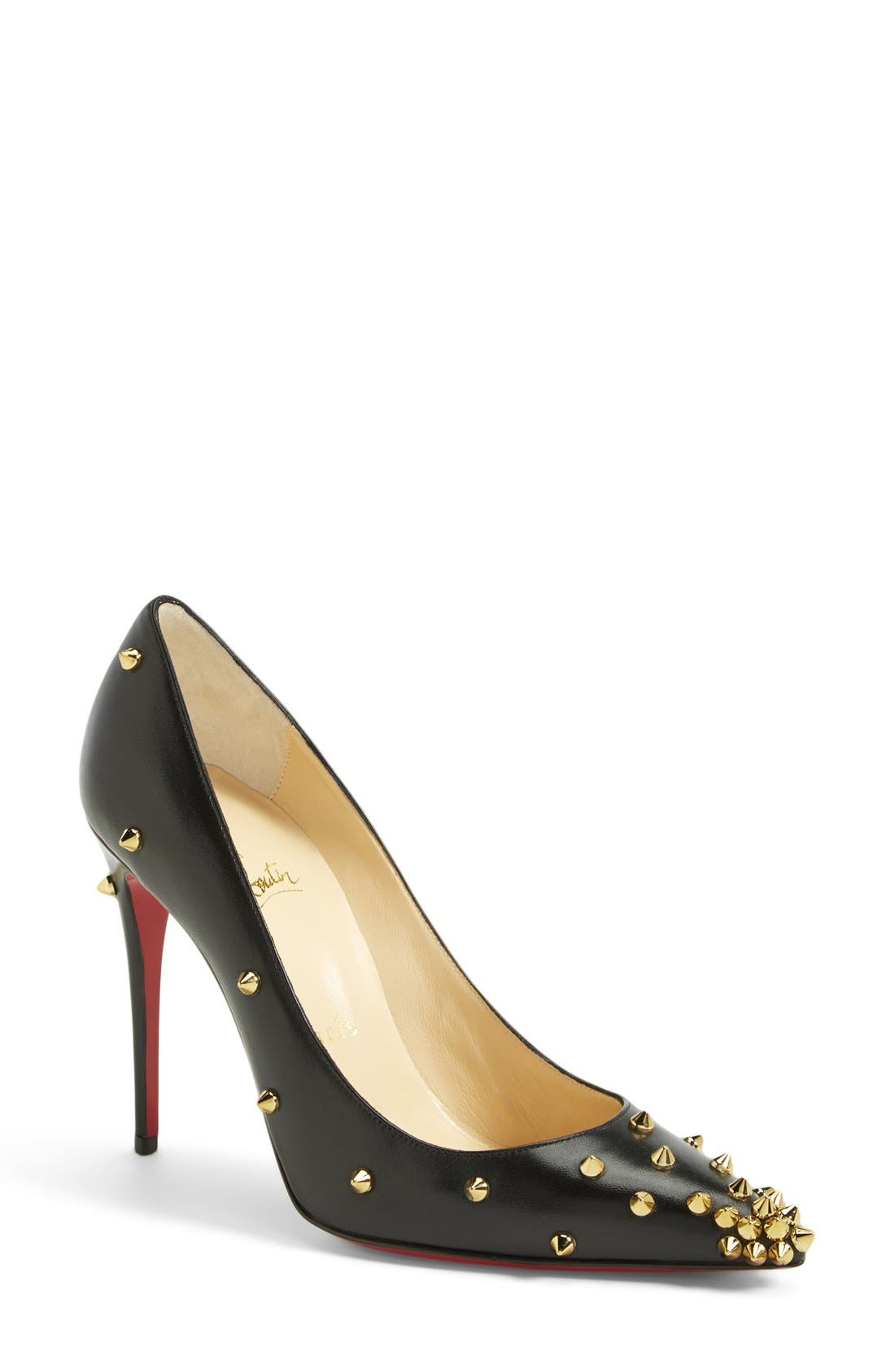 Alternate Image 1 Selected - Christian Louboutin 'Spike' Pointy Toe Pump