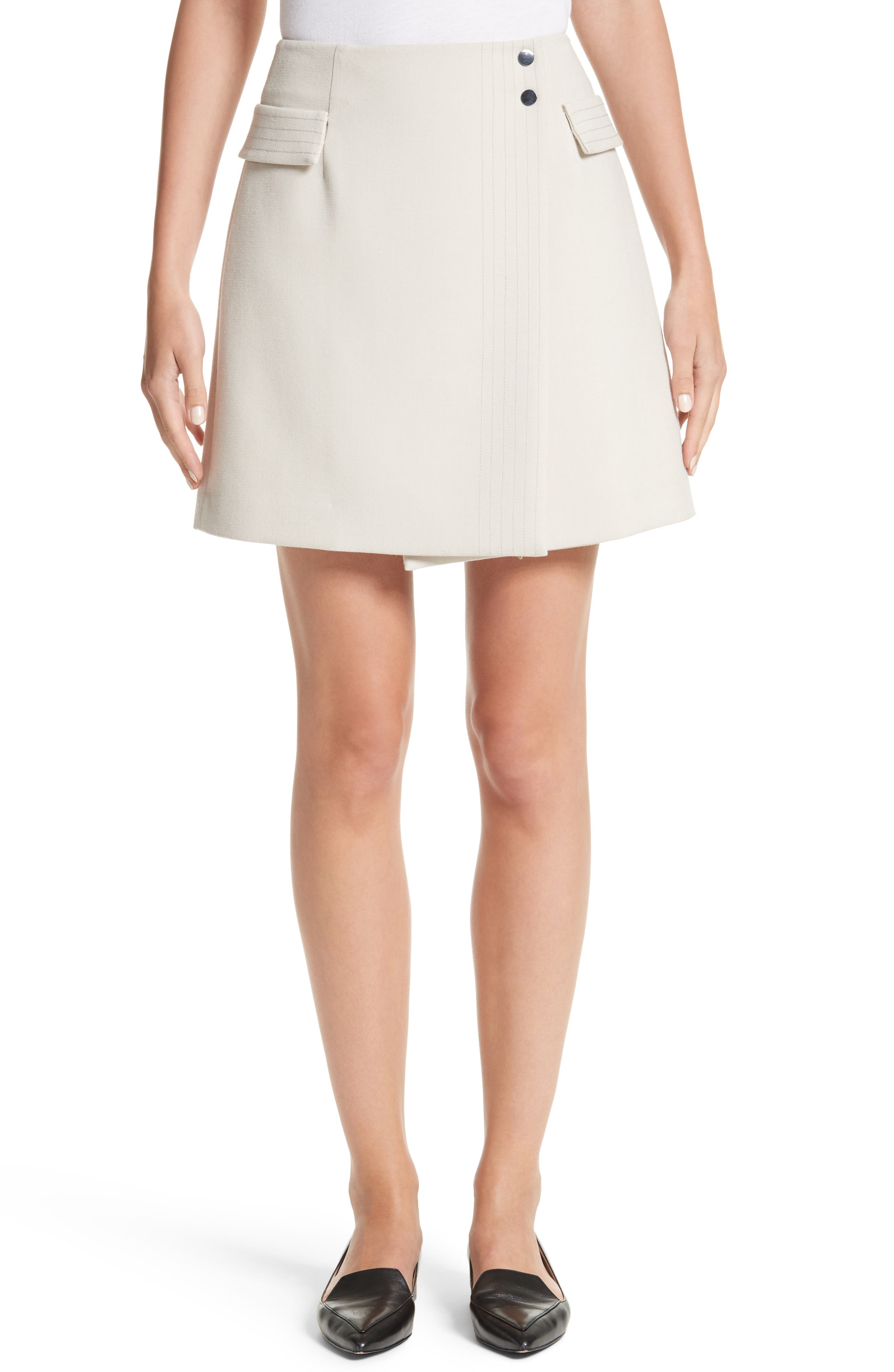 Armani Jeans Crepe Wrap Skirt