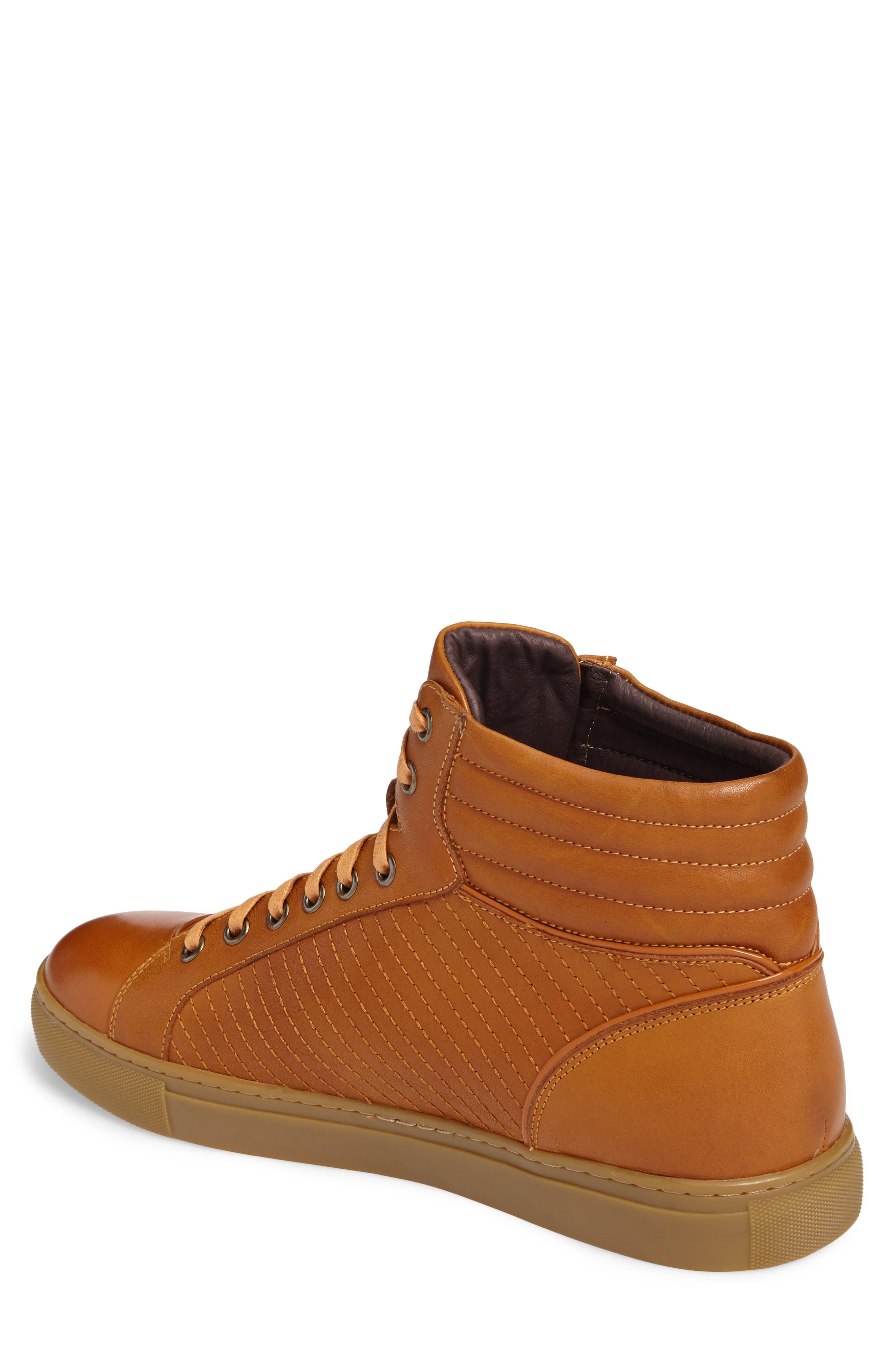 Youse Sneaker,                             Alternate thumbnail 2, color,                             Cognac Leather