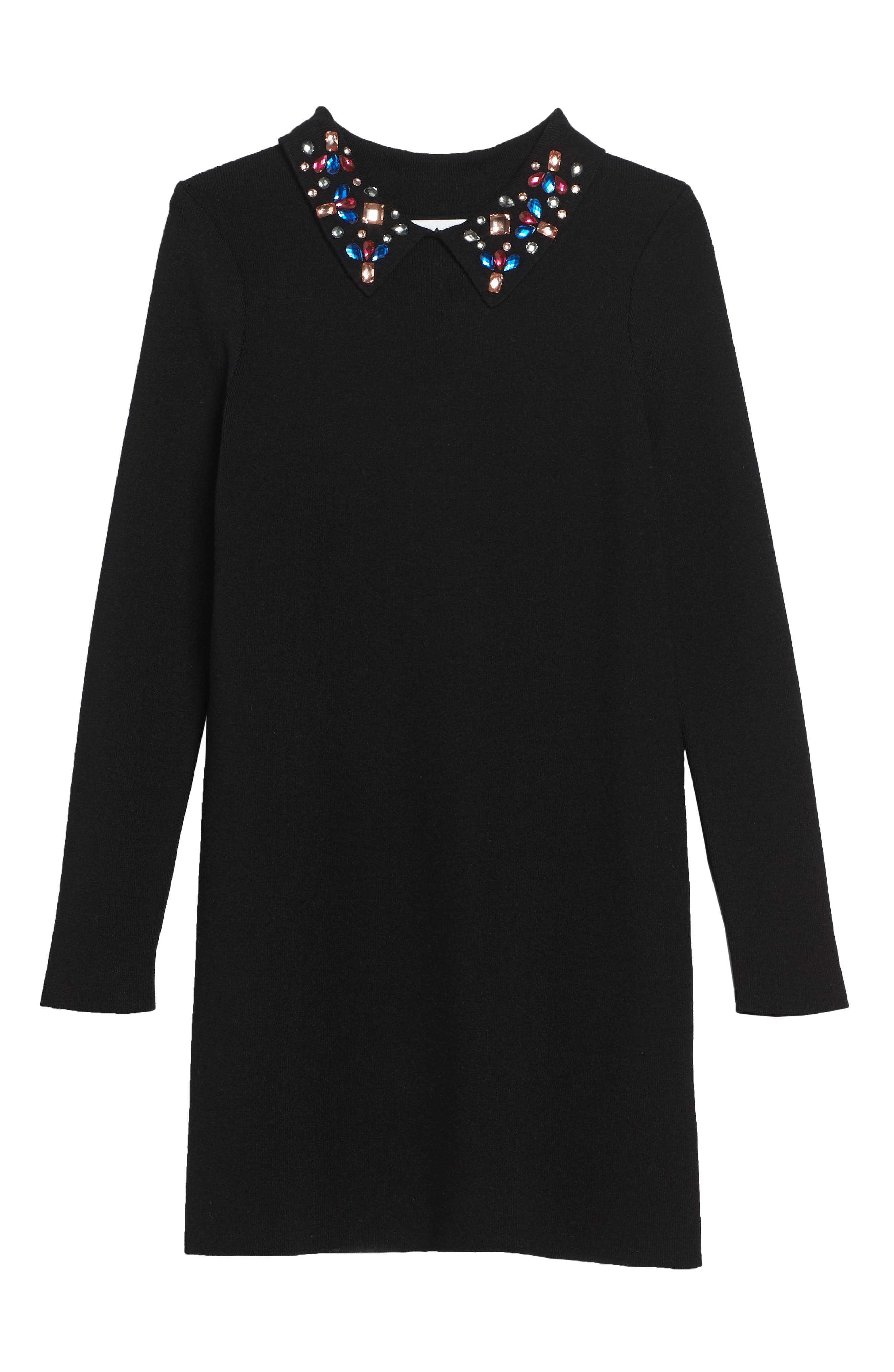Milly Minis Gem Collar Shift Dress (Big Girls)