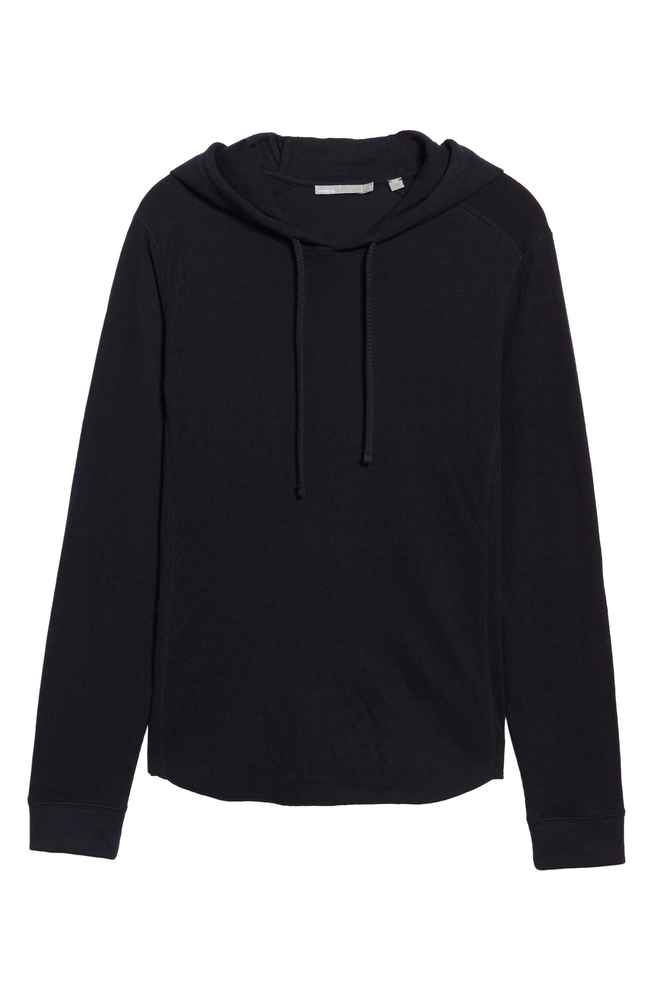 Alternate Image 6  - Vince Double Knit Hoodie