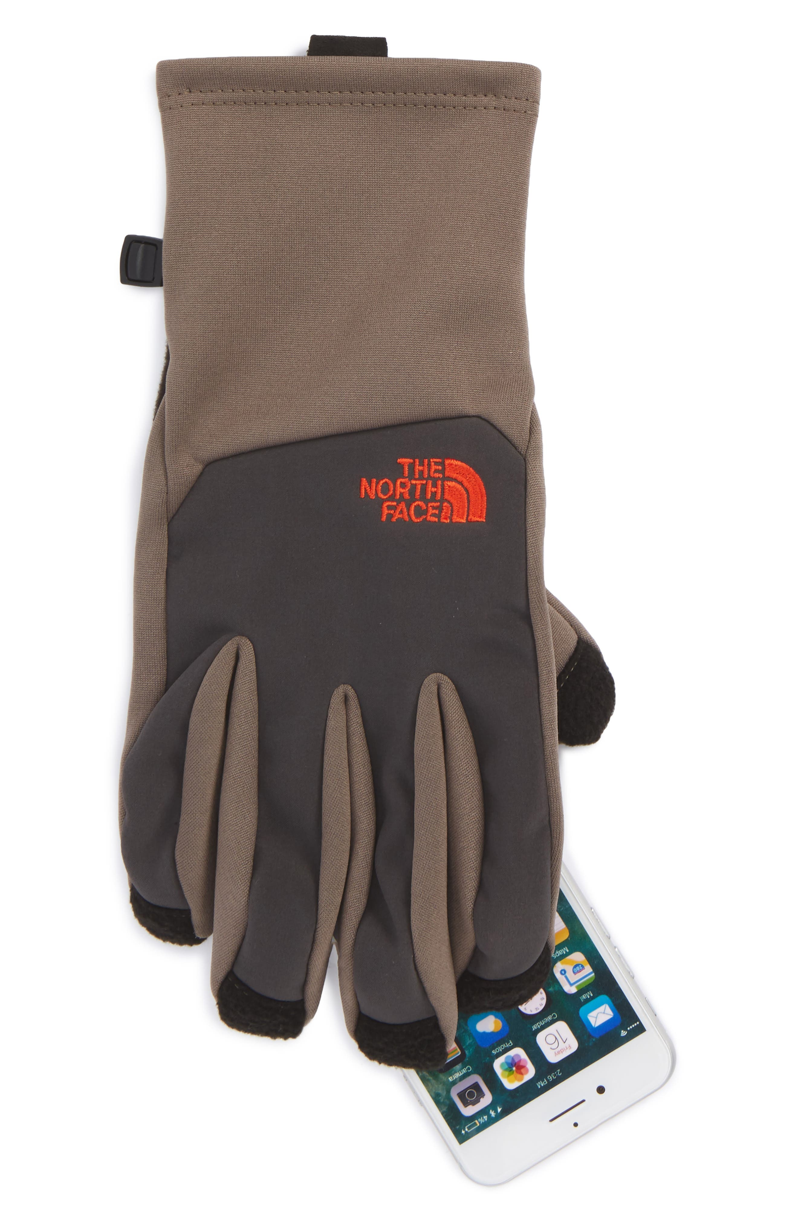 'Canyonwall' Etip Gloves,                             Alternate thumbnail 2, color,                             Falcon Brown