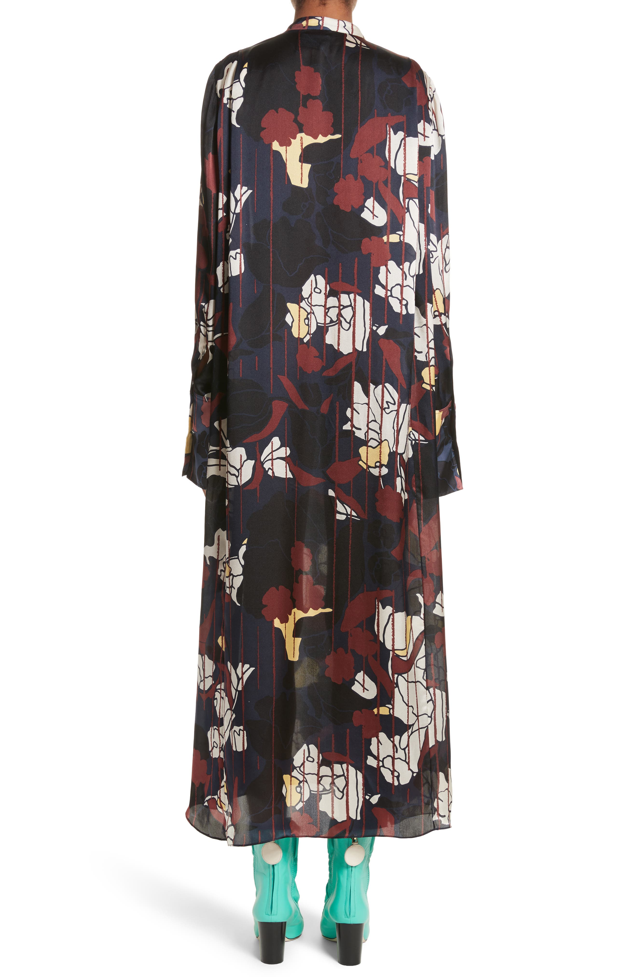 Alternate Image 3  - Roksanda Anwyn Floral Silk Dress