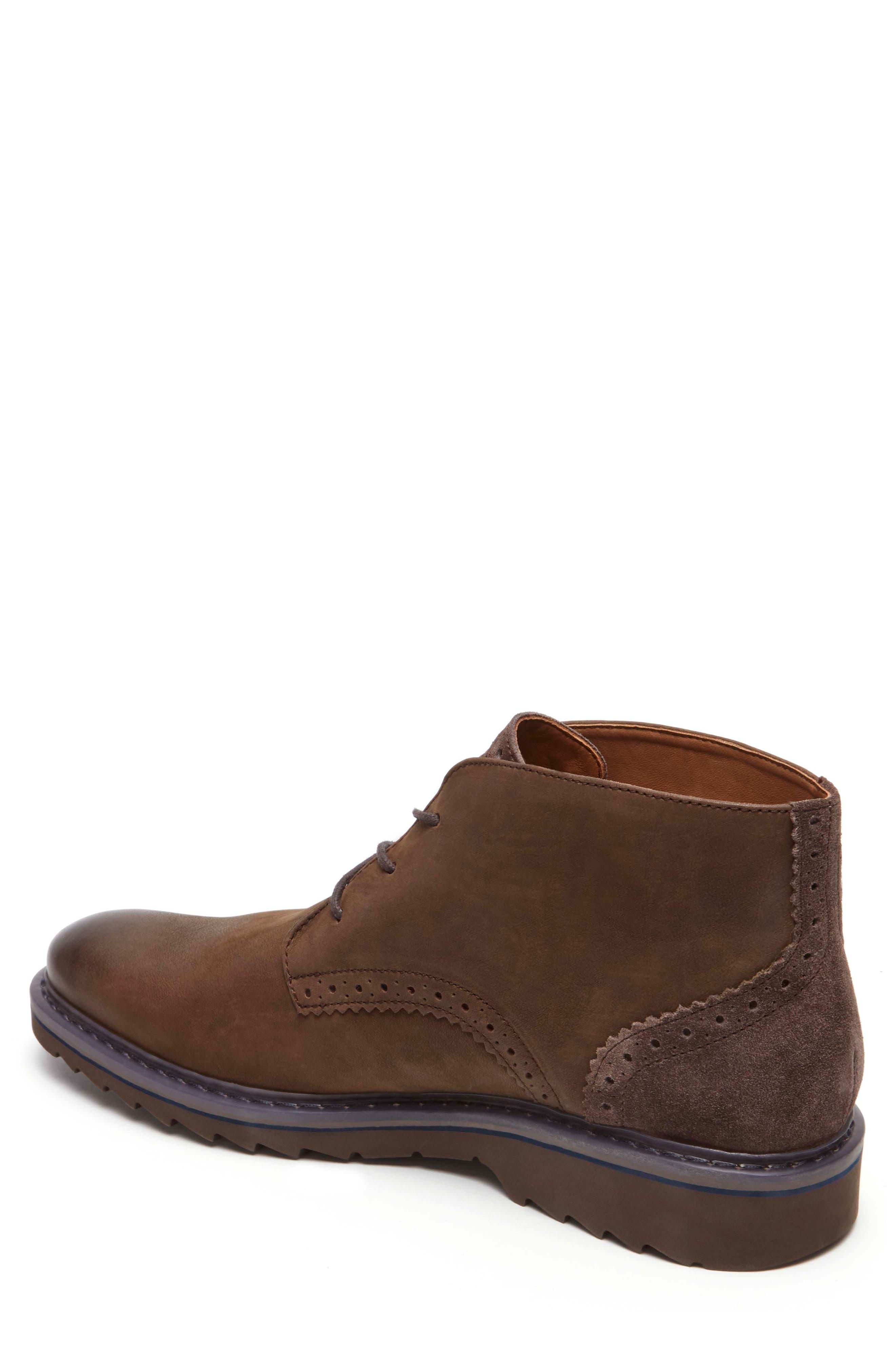 Jaxson Chukka Boot,                             Alternate thumbnail 2, color,                             Brown/ Brown Leather