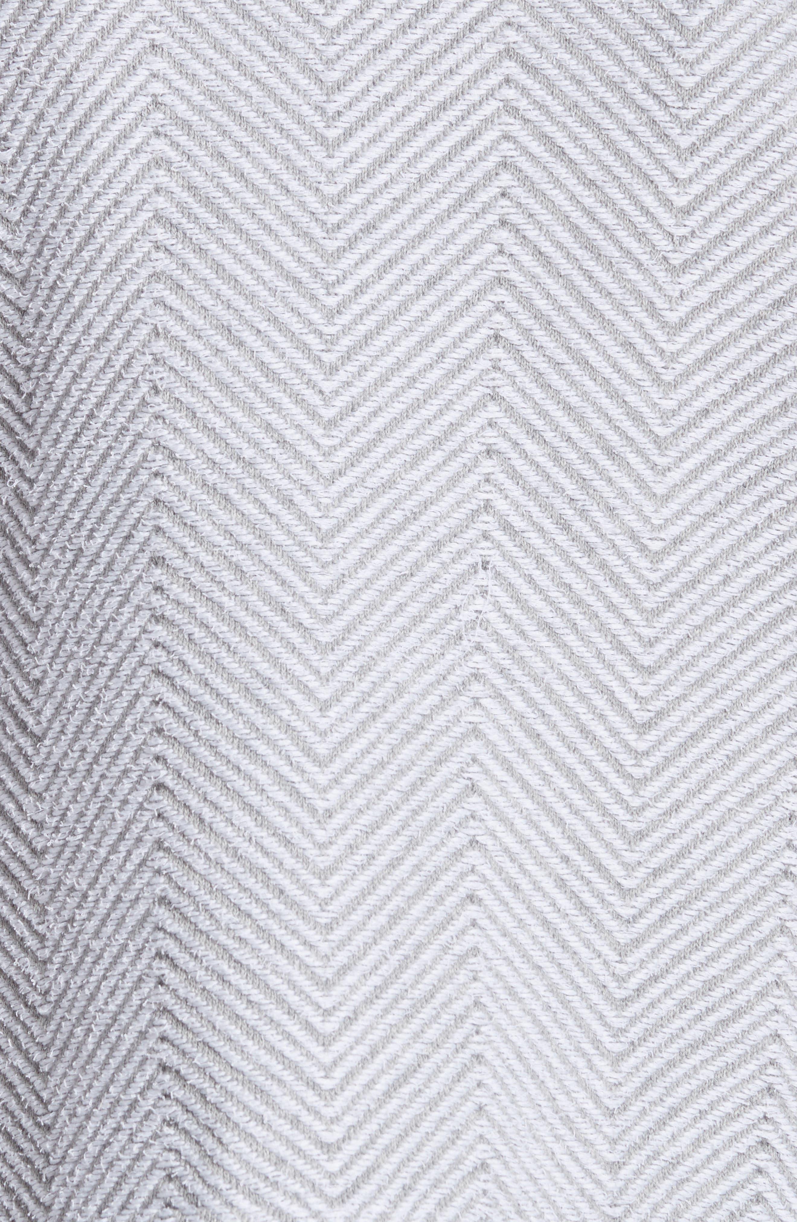 Alternate Image 5  - Fabiana Filippi Chevron Knit Jacket