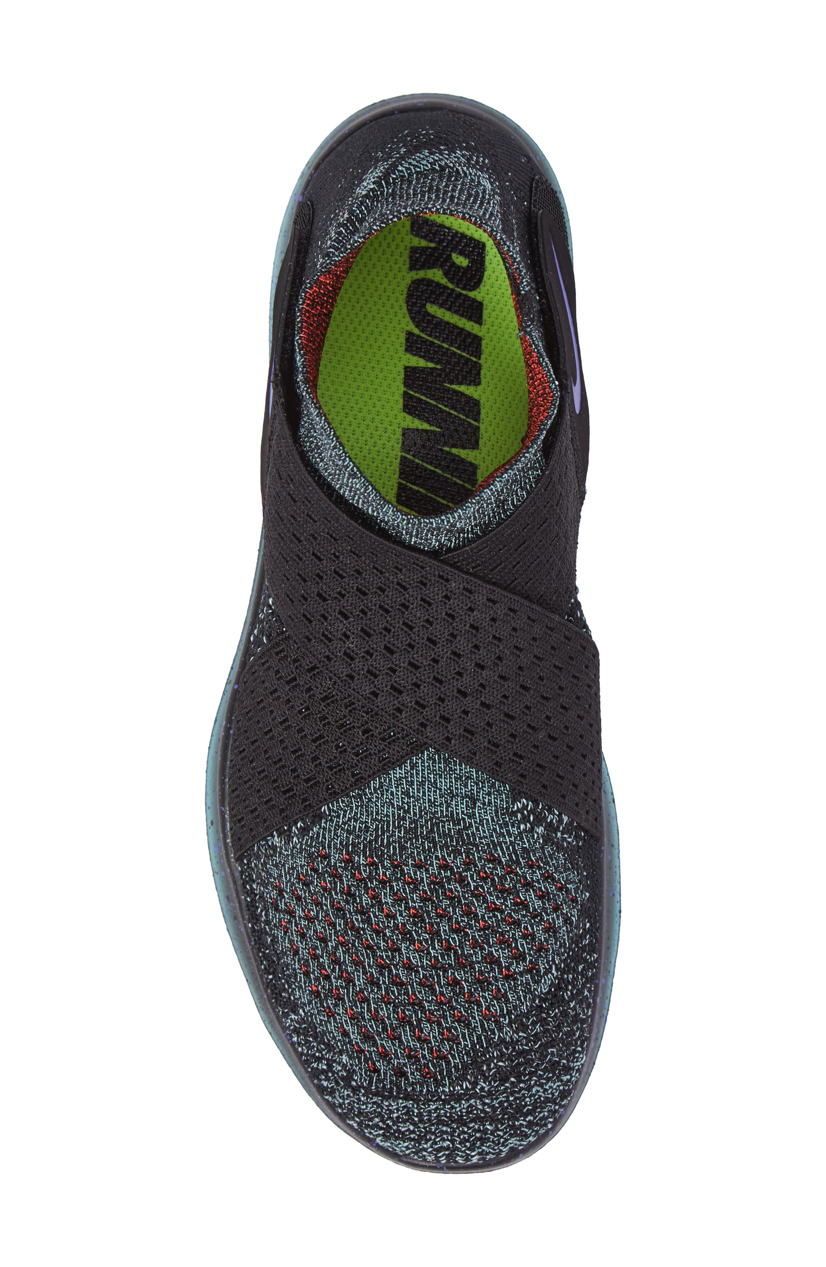 Alternate Image 5  - Nike Free Run Flyknit Motion 2017 (Women)