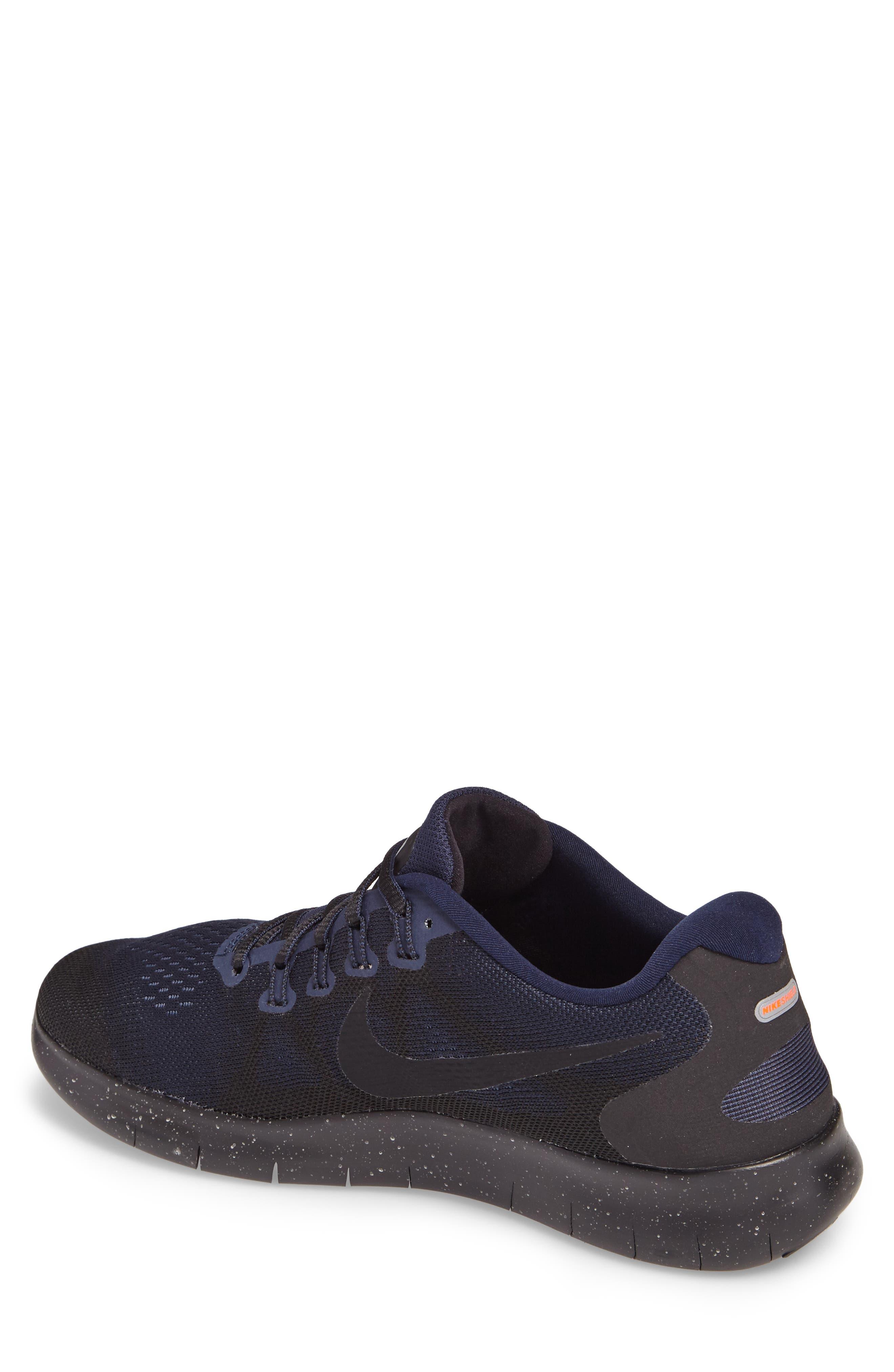 Alternate Image 2  - Nike Free RN 2017 Shield Water-Repellent Training Shoe (Men)