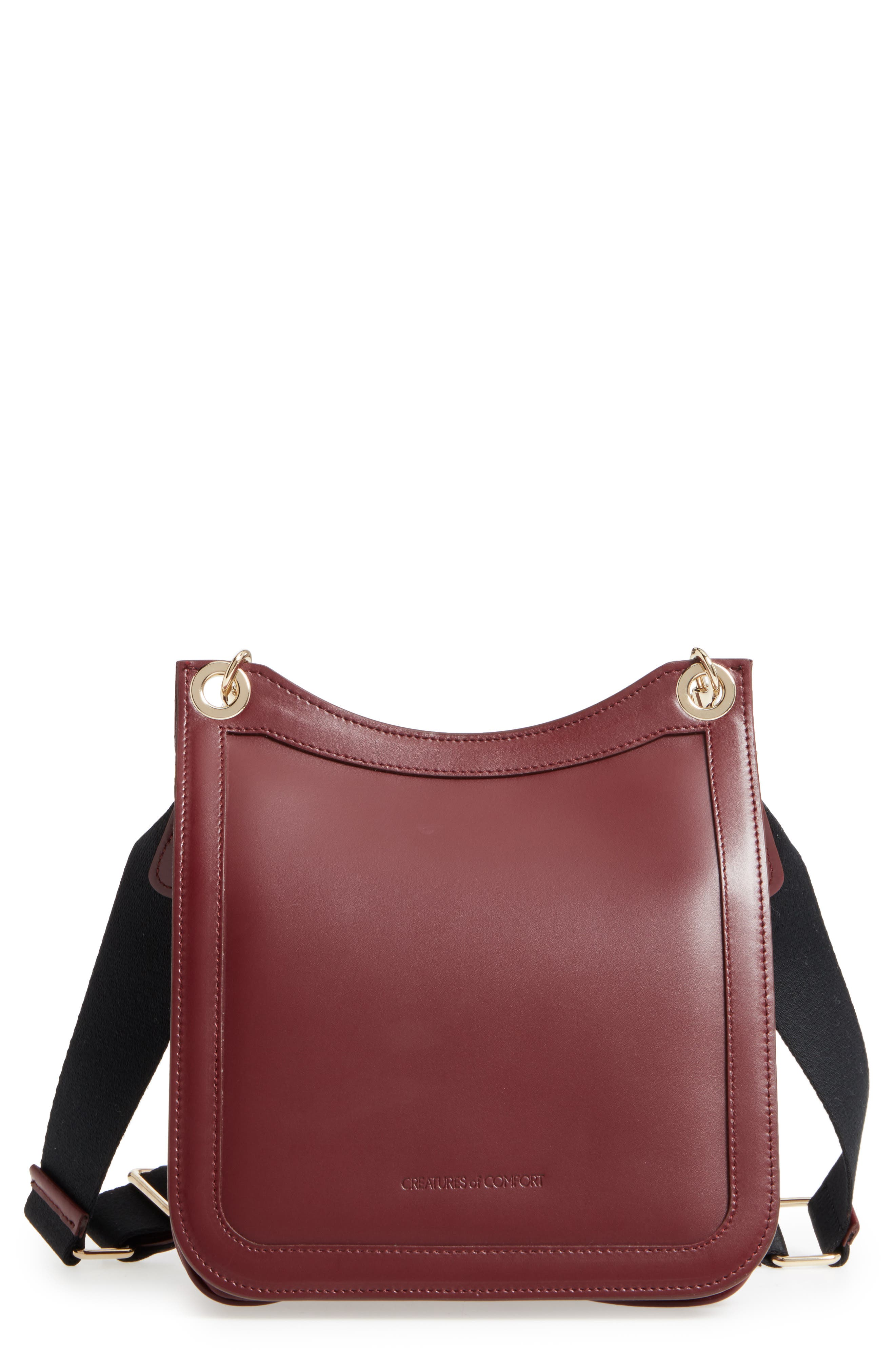 Creatures of Comfort Leather Equestrian Crossbody Bag