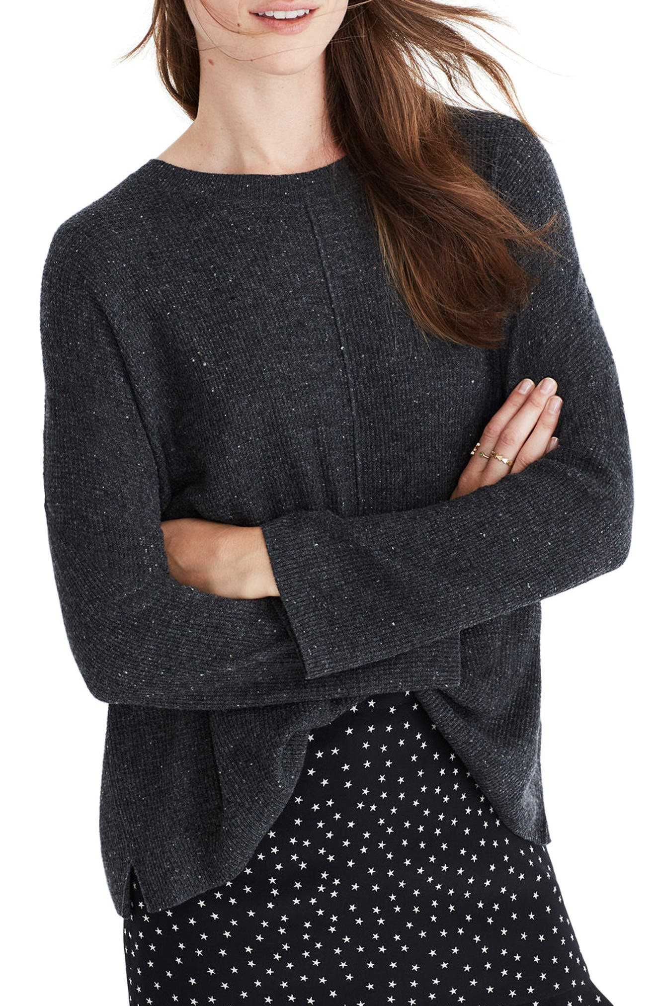 Alternate Image 1 Selected - Madewell Northroad Pullover Sweater
