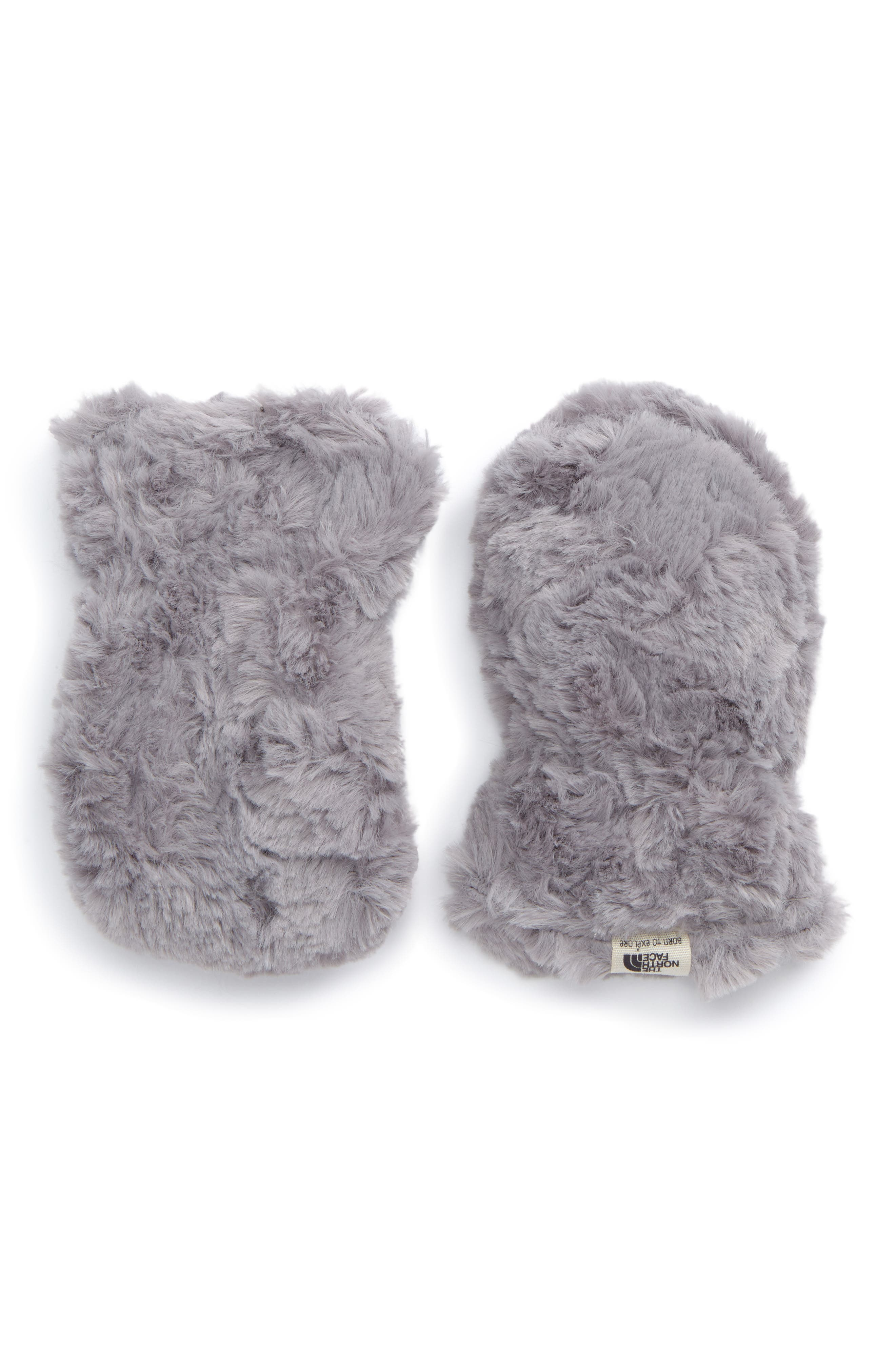 Alternate Image 2  - The North Face Mossbud Reversible Mittens (Baby)