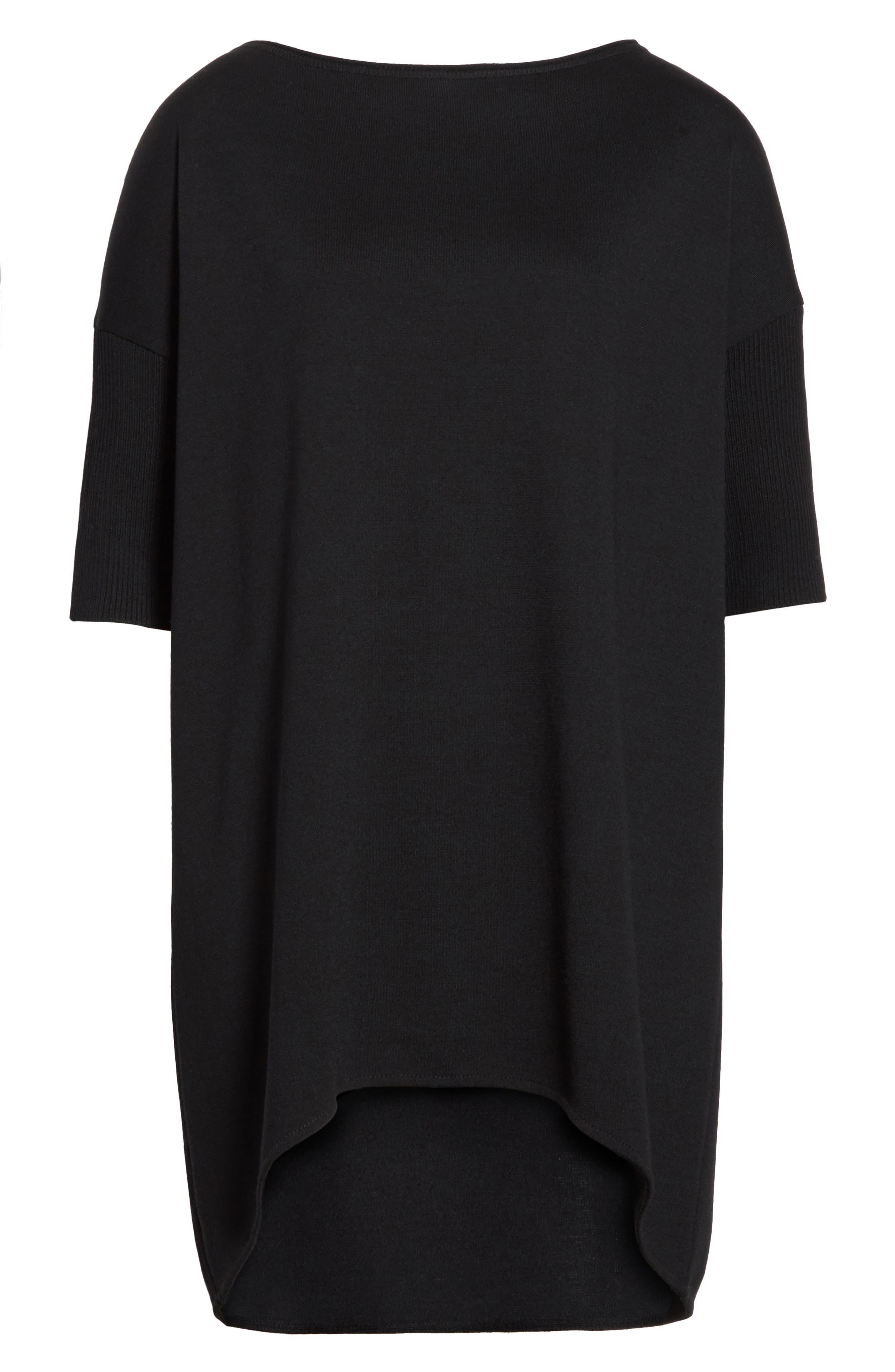 Massereau Zip Jacket,                             Alternate thumbnail 6, color,                             Black