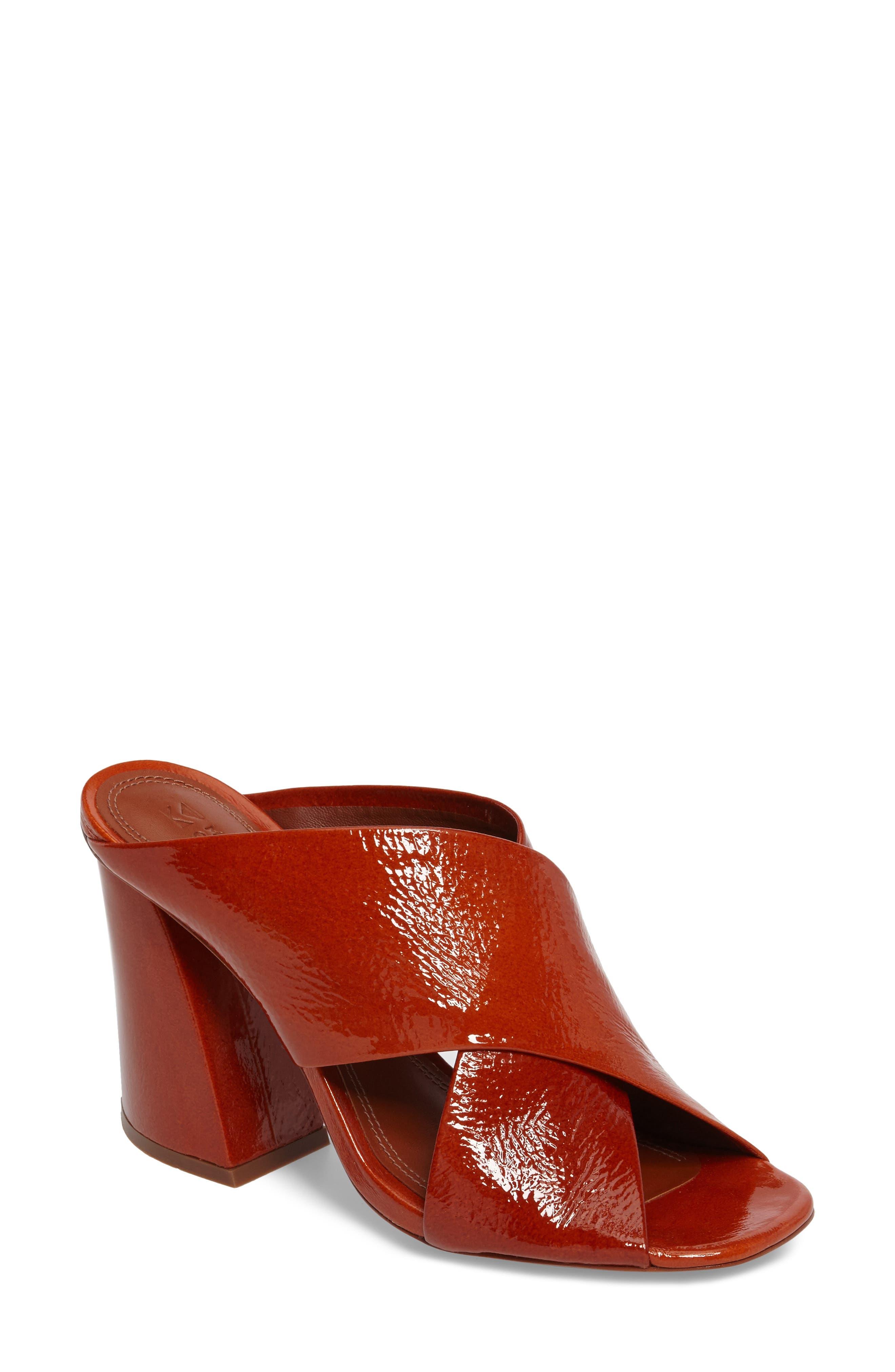Mercedes Castillo Leni Cross Strap Sandal (Women)