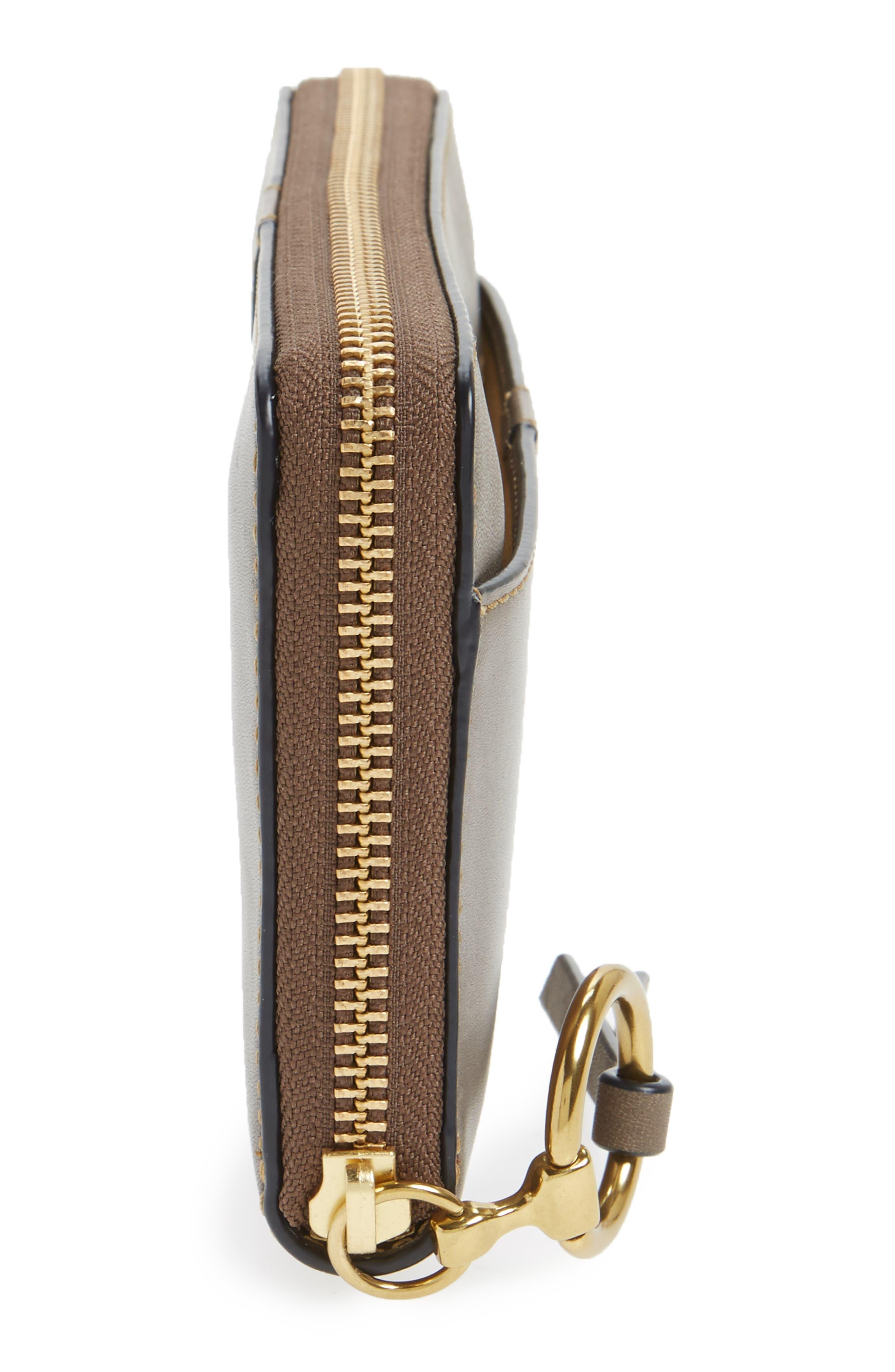 Alternate Image 3  - Frye Ilana Harness Leather Zip Wallet