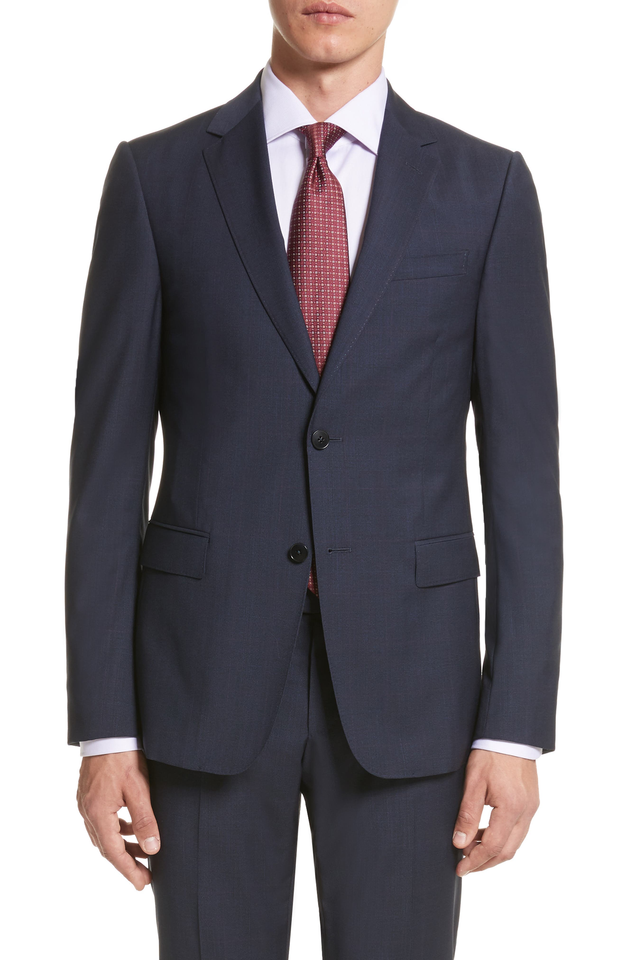 Alternate Image 5  - Z Zegna Classic Fit Check Wool Suit