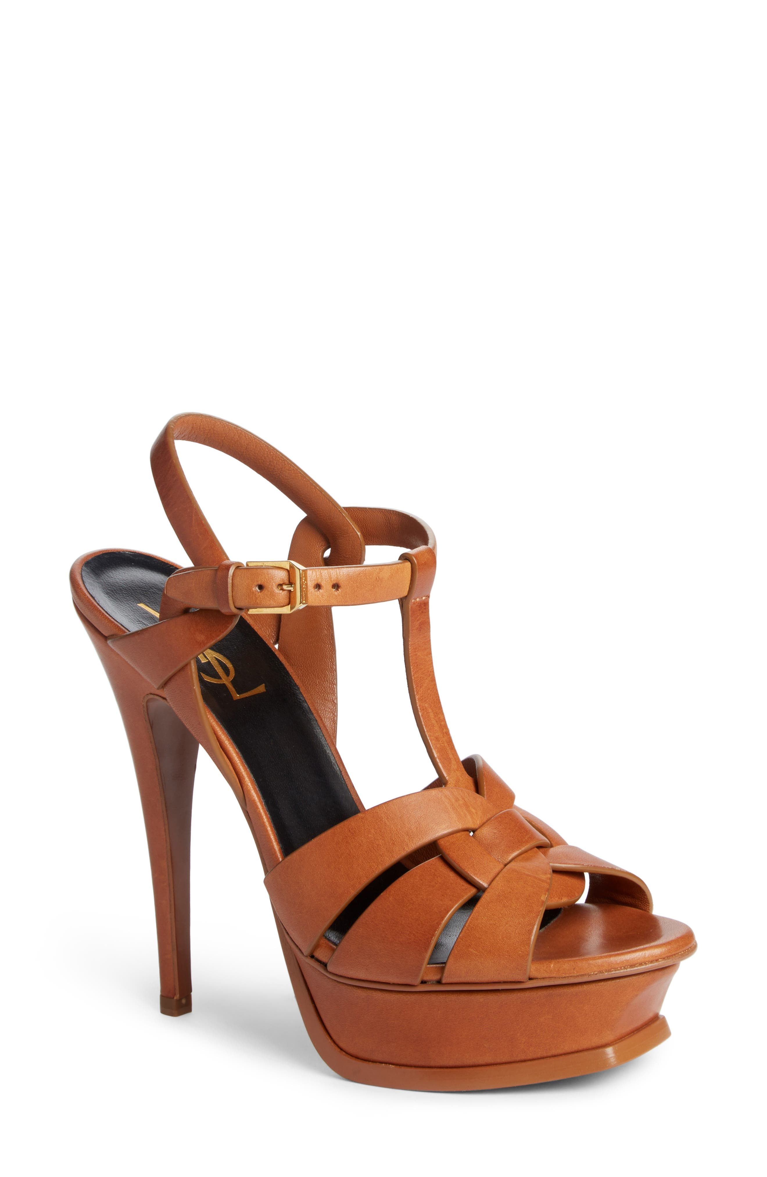 Alternate Image 1 Selected - Saint Laurent 'Tribute' Sandal (Women)