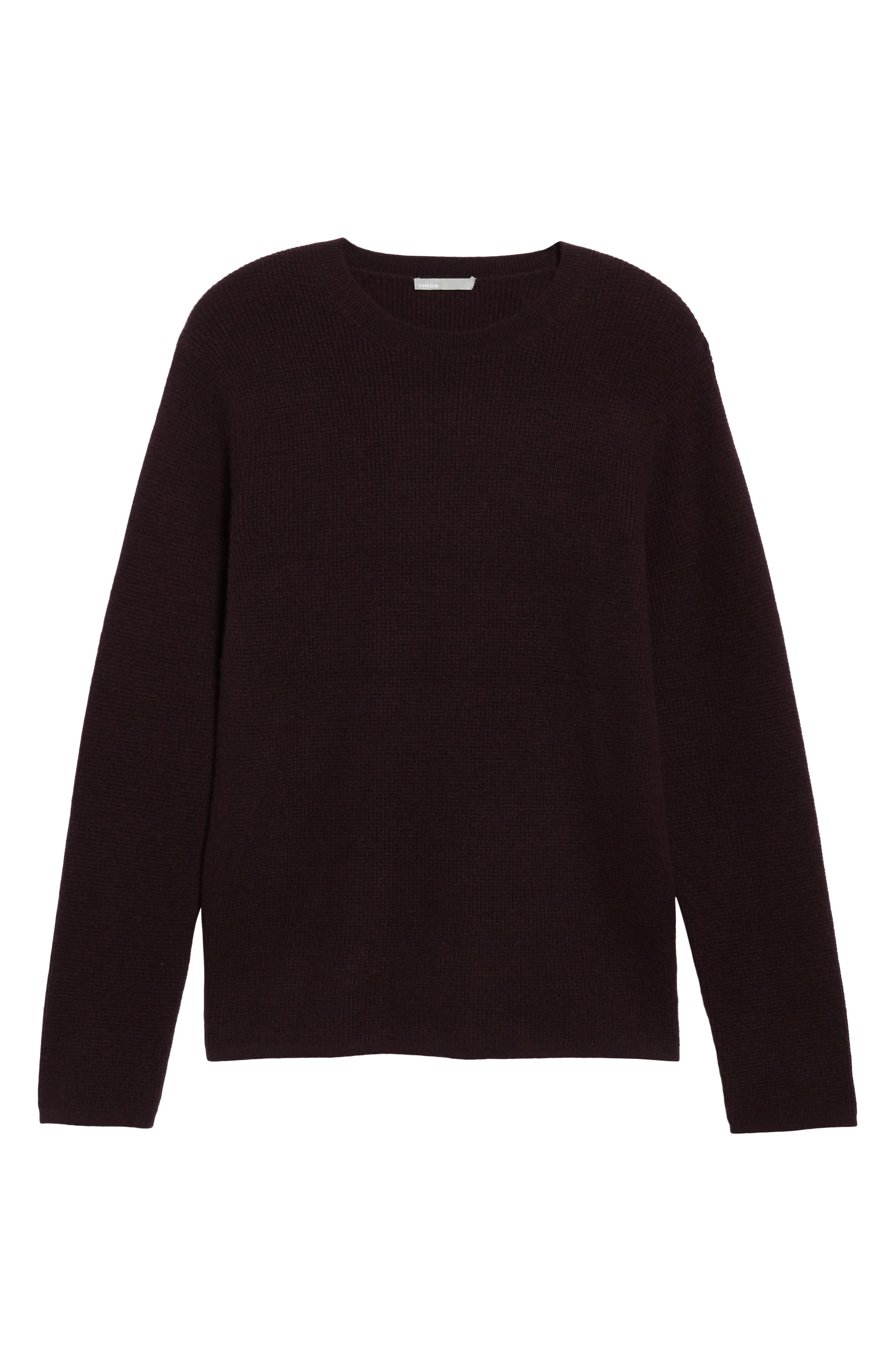 Alternate Image 6  - Vince Thermal Wool & Cashmere Sweater