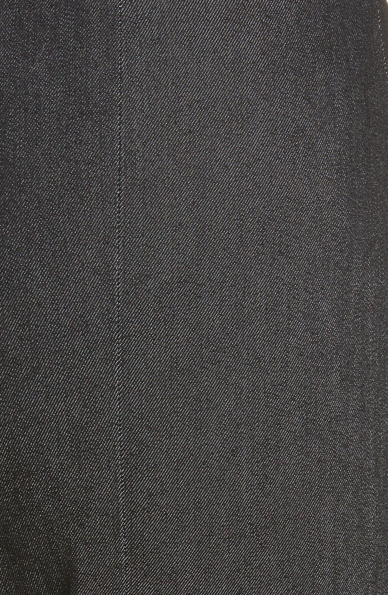 Alternate Image 5  - Cinq à Sept Kiran Lace-Up Stretch Denim Pants