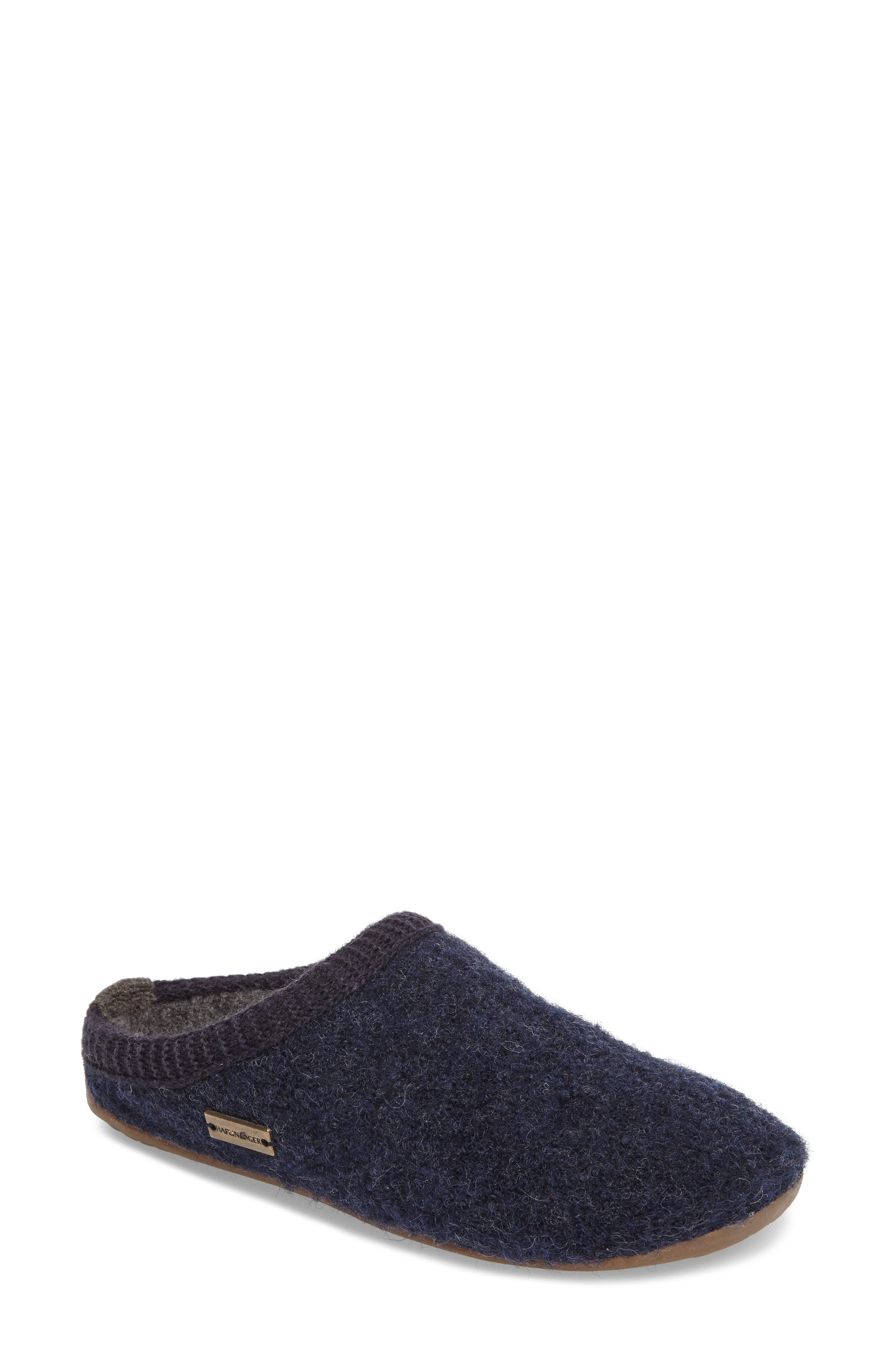 Dynamic Slipper,                         Main,                         color, Captains Blue Wool