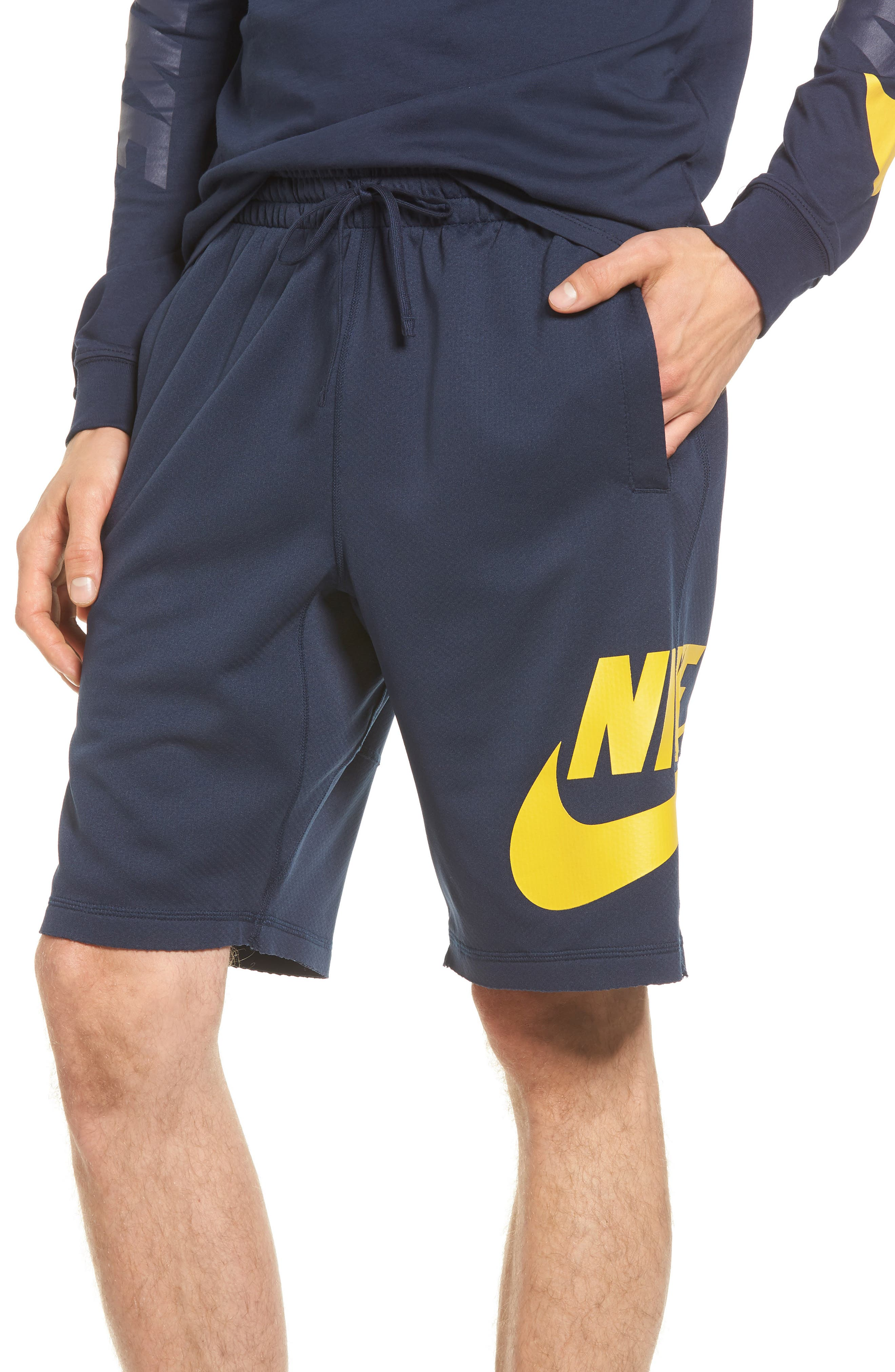 Sunday Dri-FIT Shorts,                         Main,                         color, Obsidian/ Mineral Gold