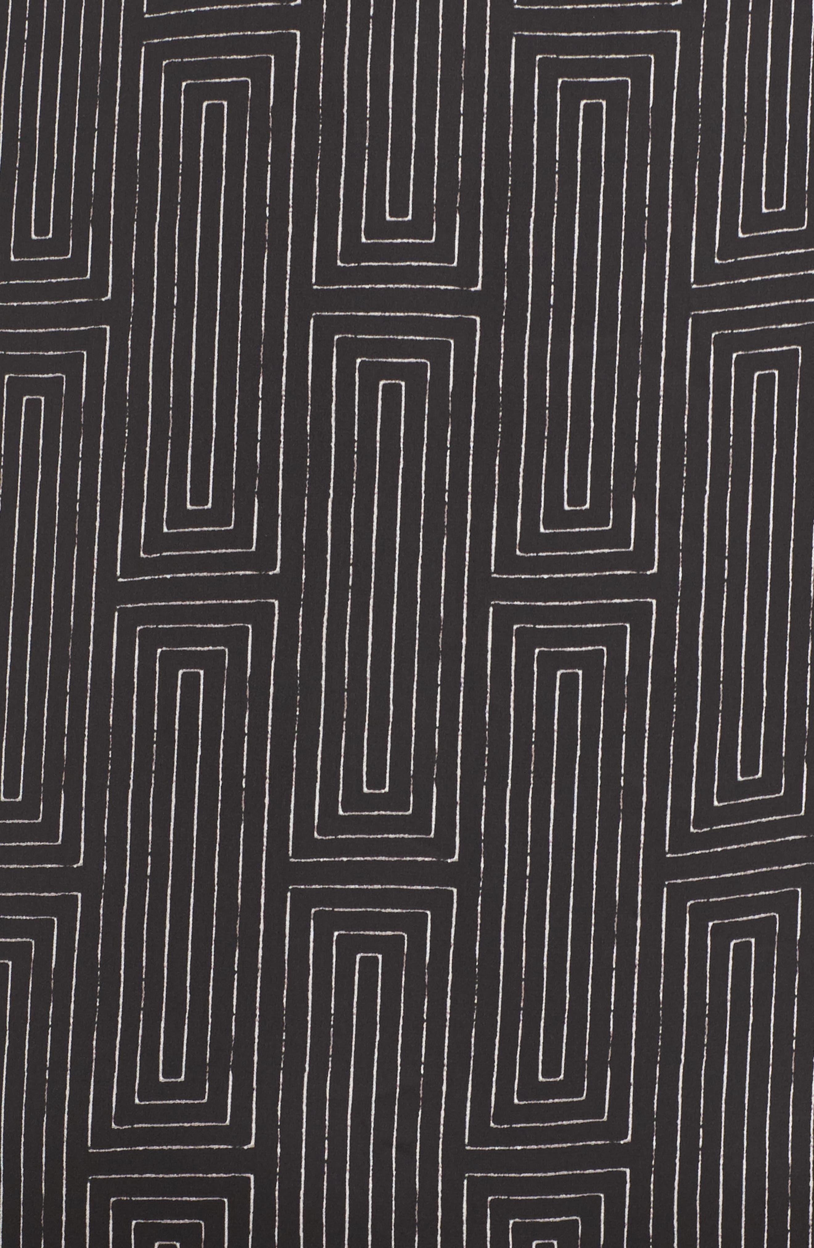 Alternate Image 5  - DKNY Washed Satin Maxi Sleep Shirt (Plus Size)