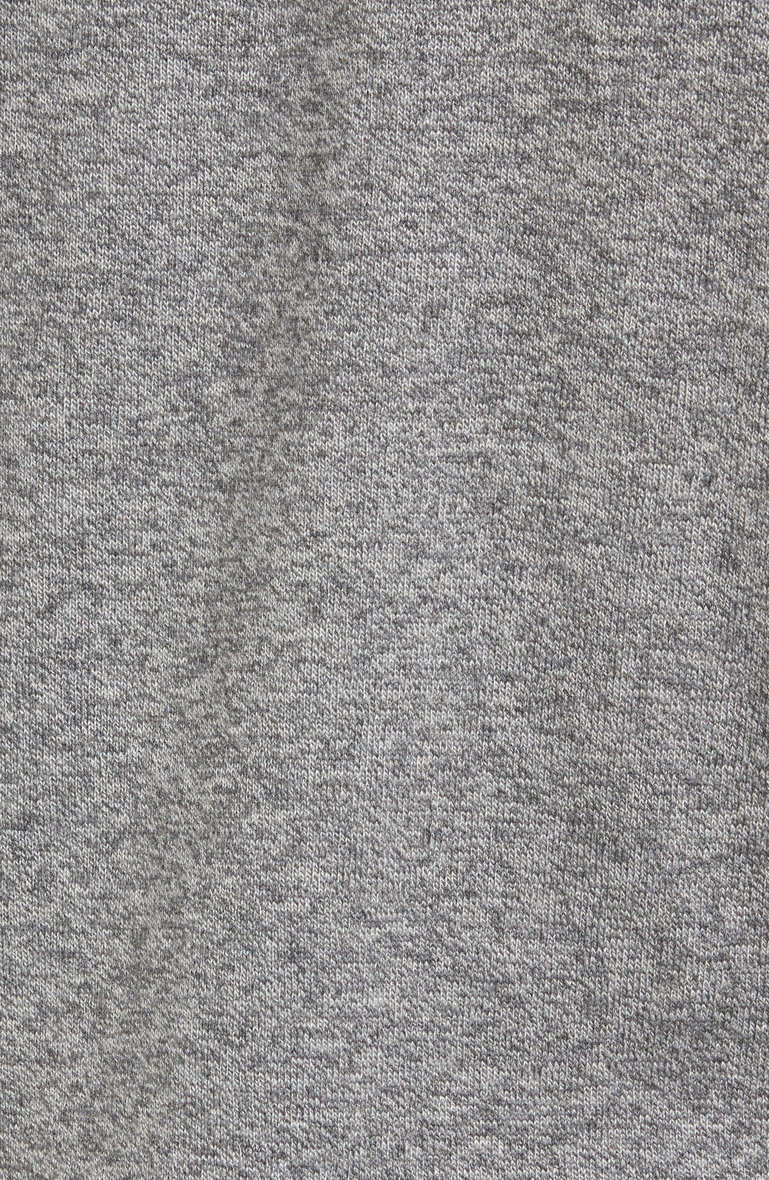 Alternate Image 5  - Nordstrom Men's Shop Quarter Zip Sweater (Big)