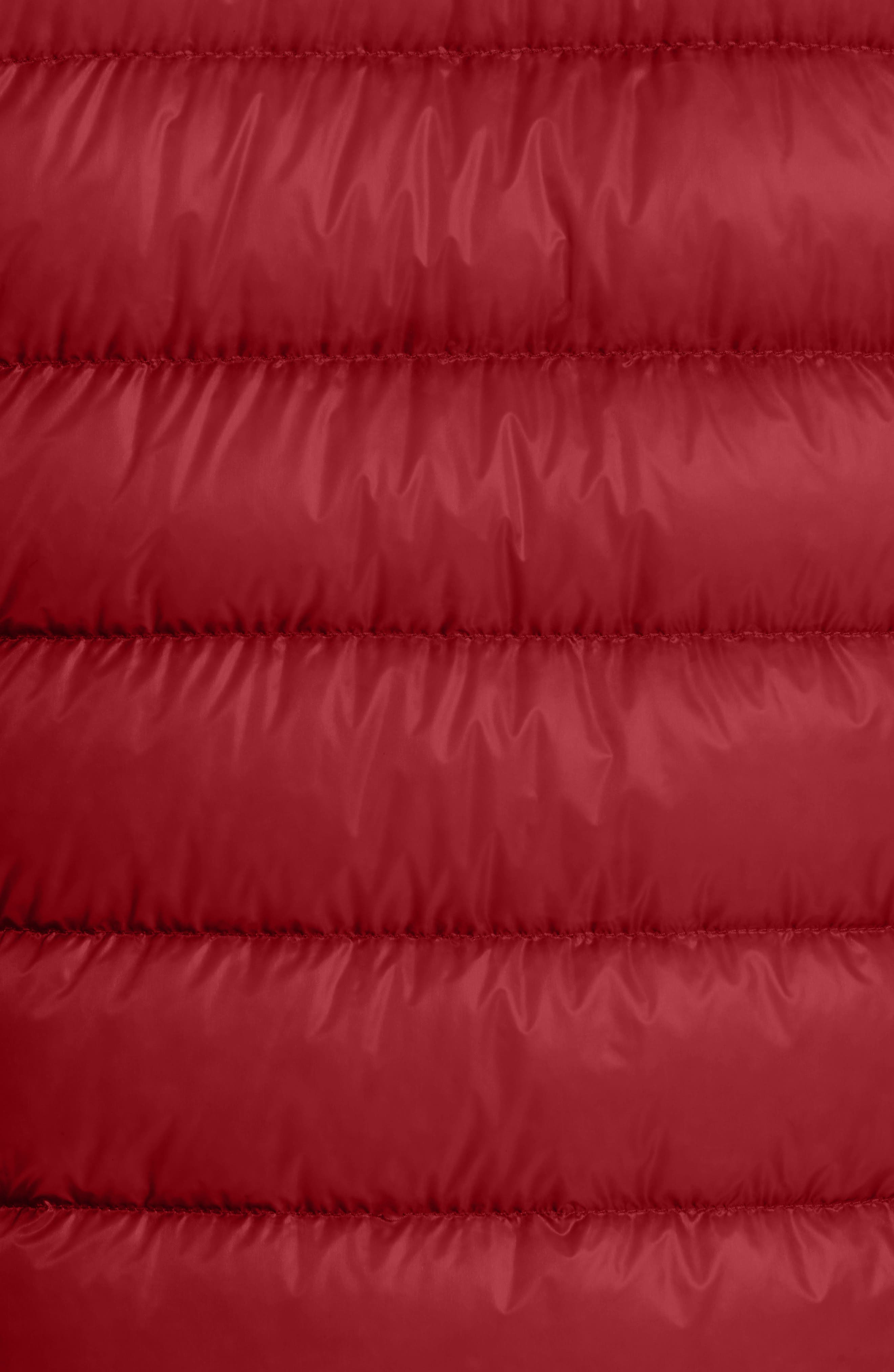 Acorus Down Quilted Jacket,                             Alternate thumbnail 5, color,                             Dark Red